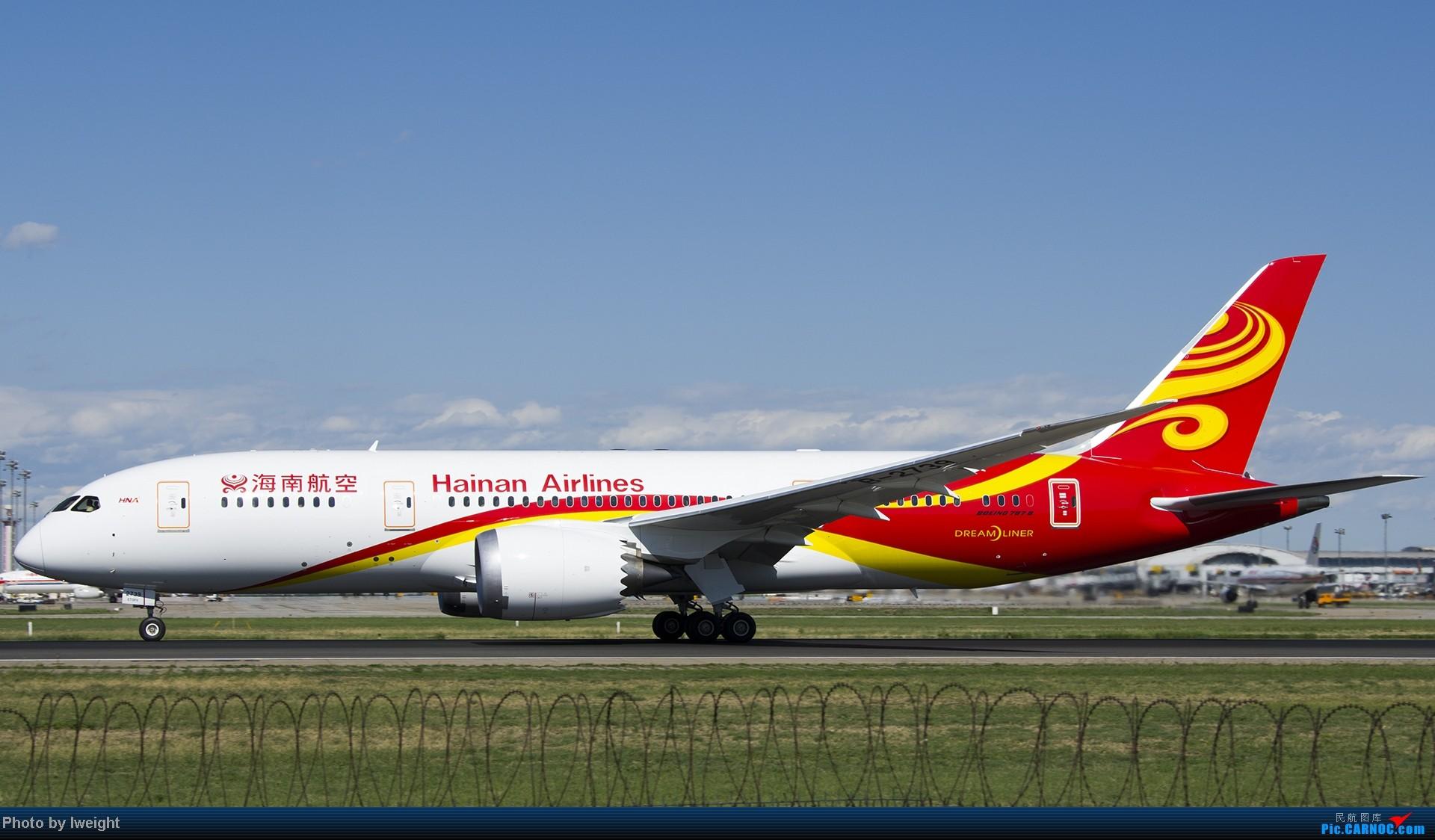 Re:[原创]新相机+好天气,PEK试机乱拍 BOEING 787-8 B-2739 中国北京首都机场