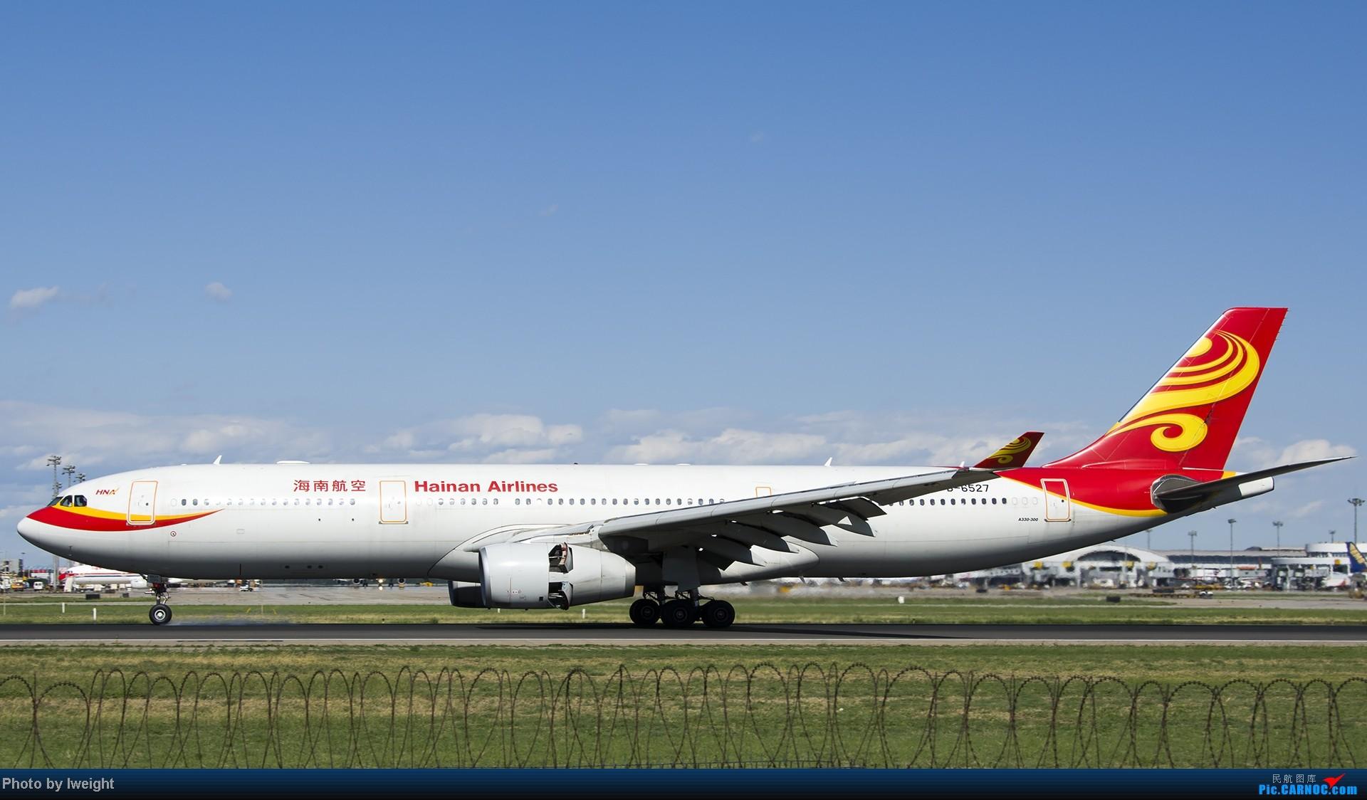 Re:[原创]新相机+好天气,PEK试机乱拍 AIRBUS A330-300 B-6527 中国北京首都机场