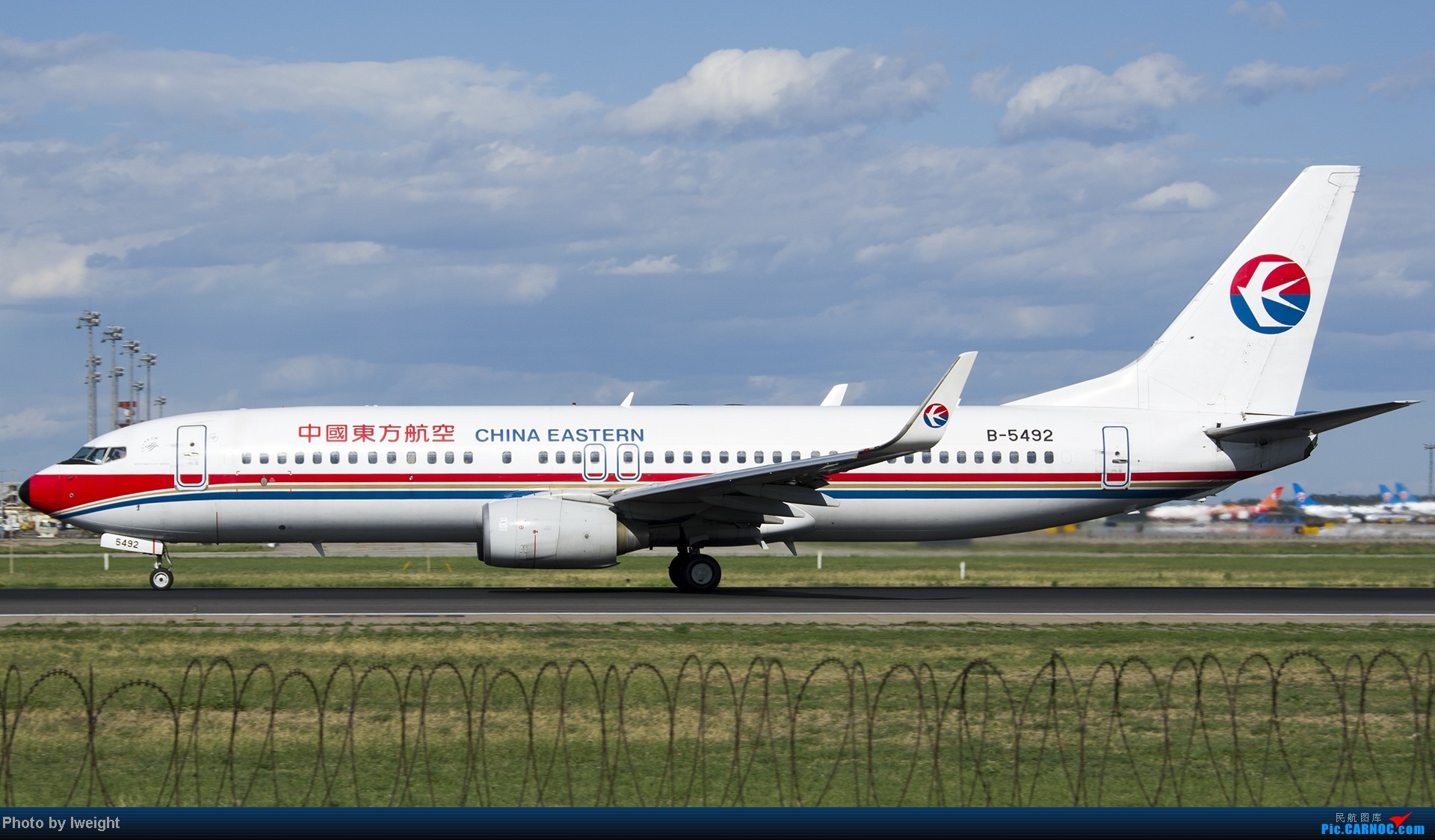 Re:[原创]新相机+好天气,PEK试机乱拍 BOEING 737-800 B-5492 中国北京首都机场