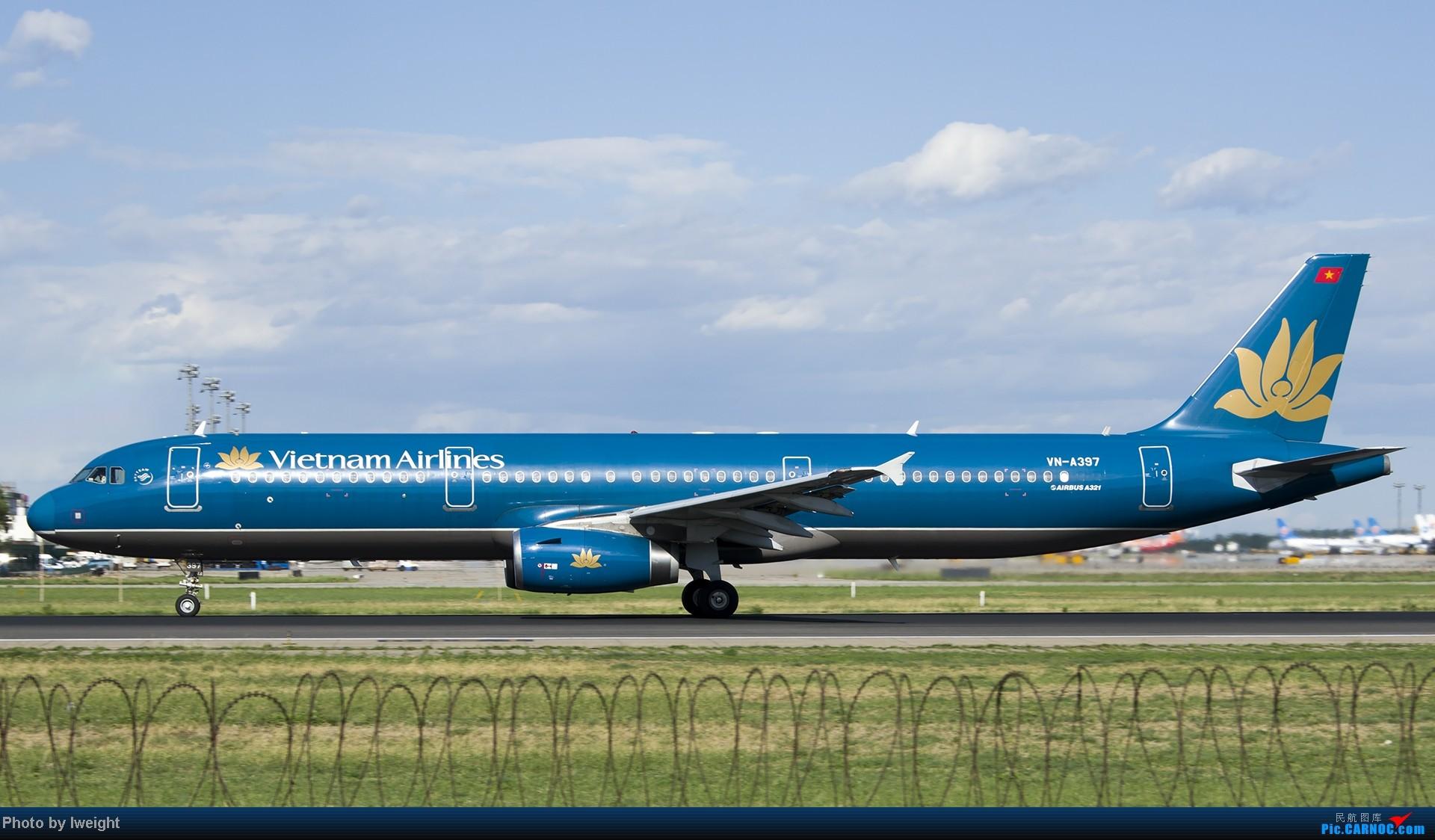Re:[原创]新相机+好天气,PEK试机乱拍 AIRBUS A321-200 VN-A397 中国北京首都机场