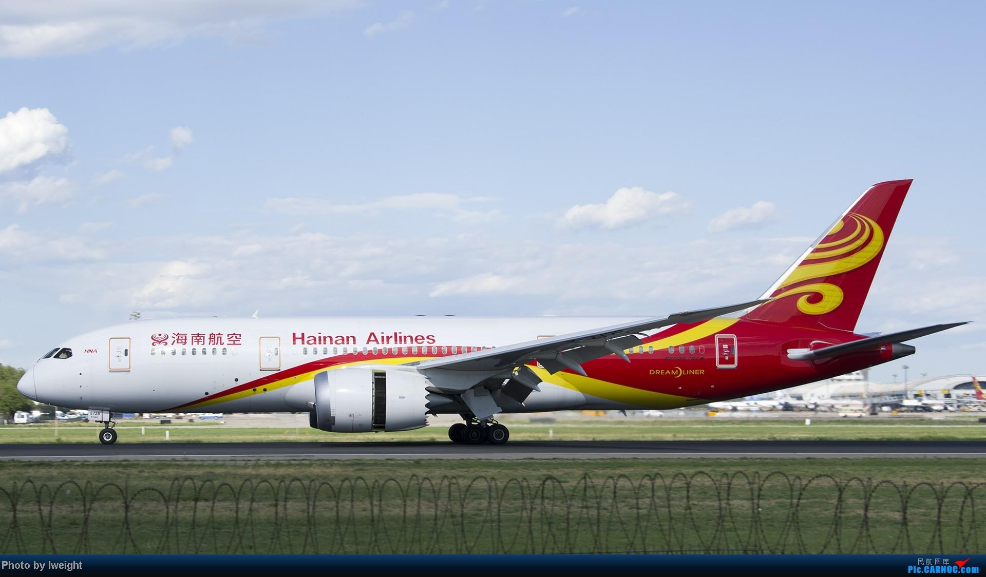 Re:[原创]新相机+好天气,PEK试机乱拍 BOEING 787-8 B-2728 中国北京首都机场