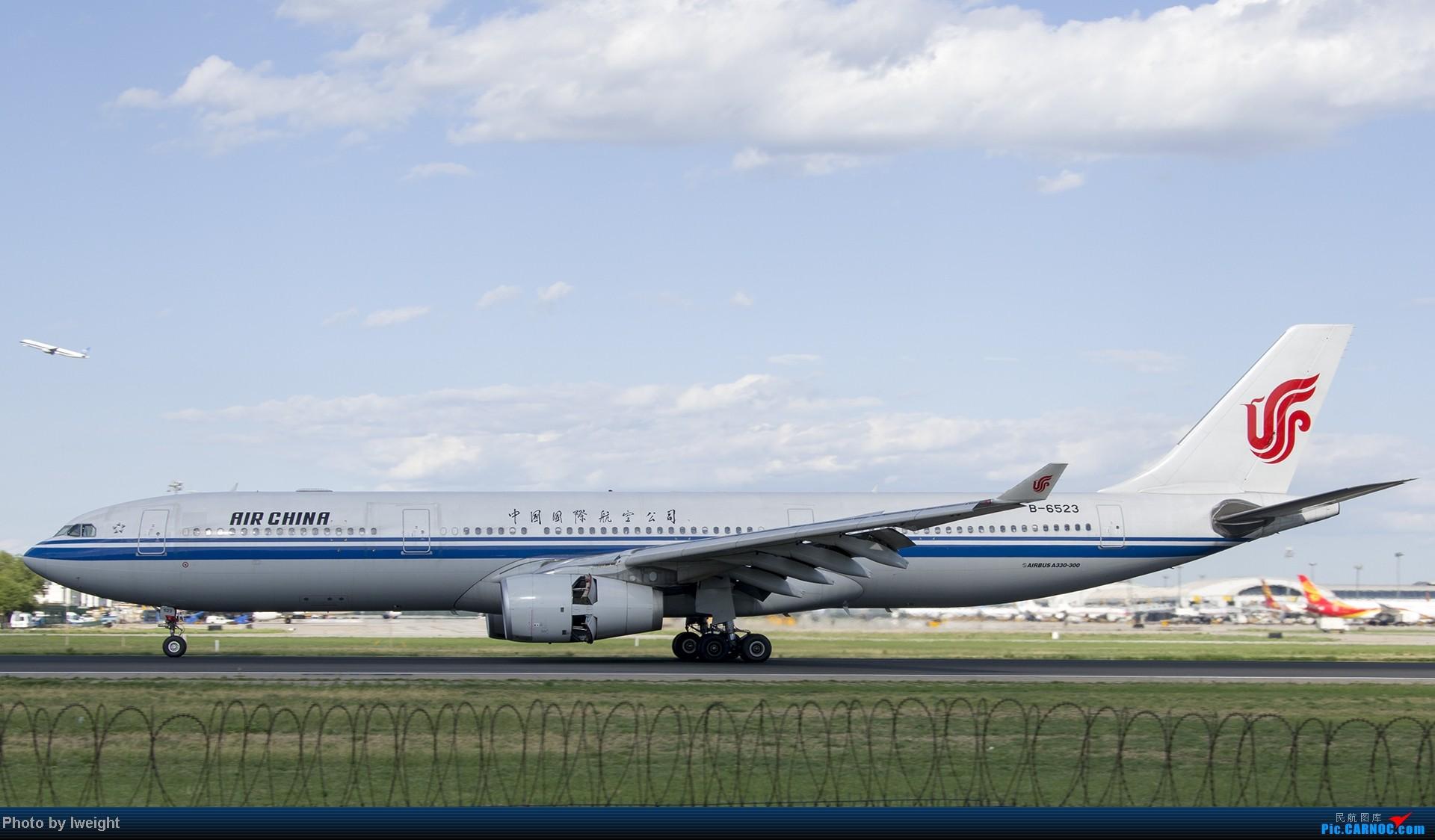 Re:[原创]新相机+好天气,PEK试机乱拍 AIRBUS A330-300 B-6523 中国北京首都机场