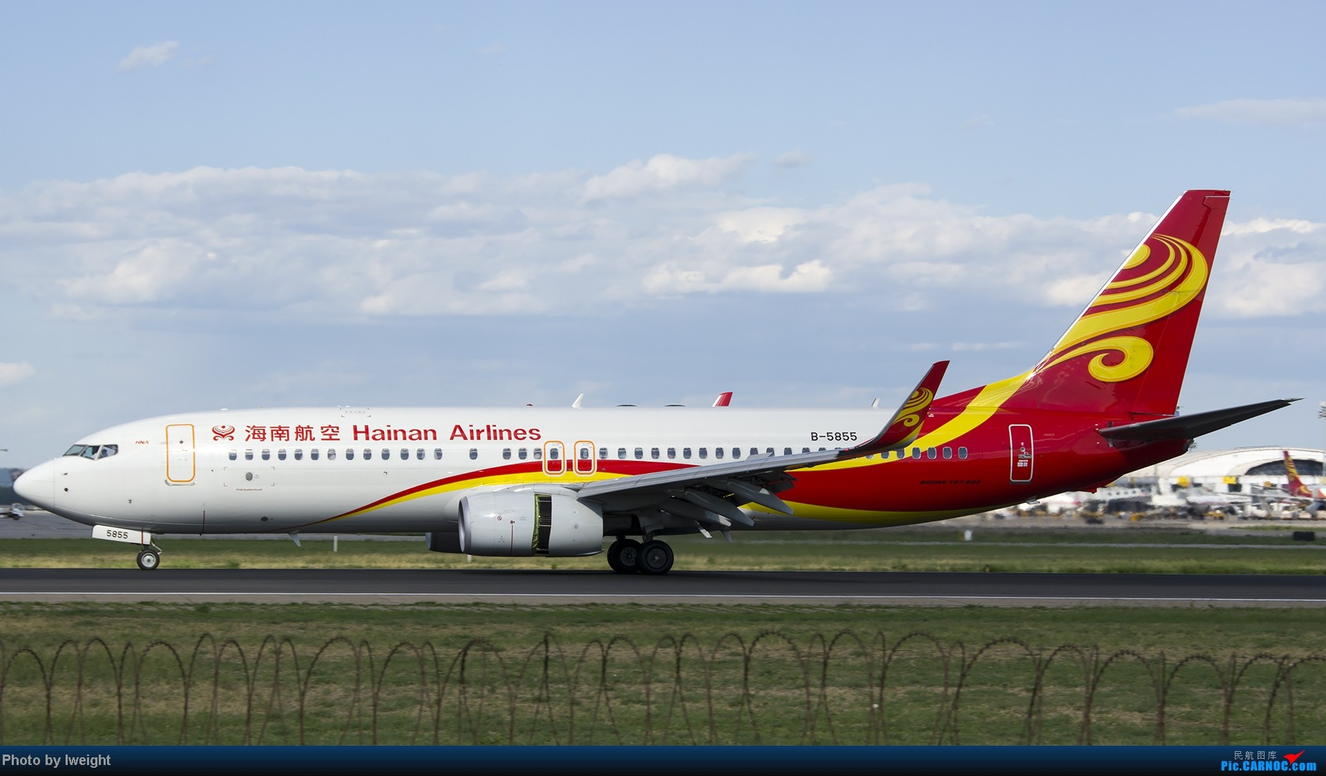 Re:[原创]新相机+好天气,PEK试机乱拍 BOEING 737-800 B-5855 中国北京首都机场