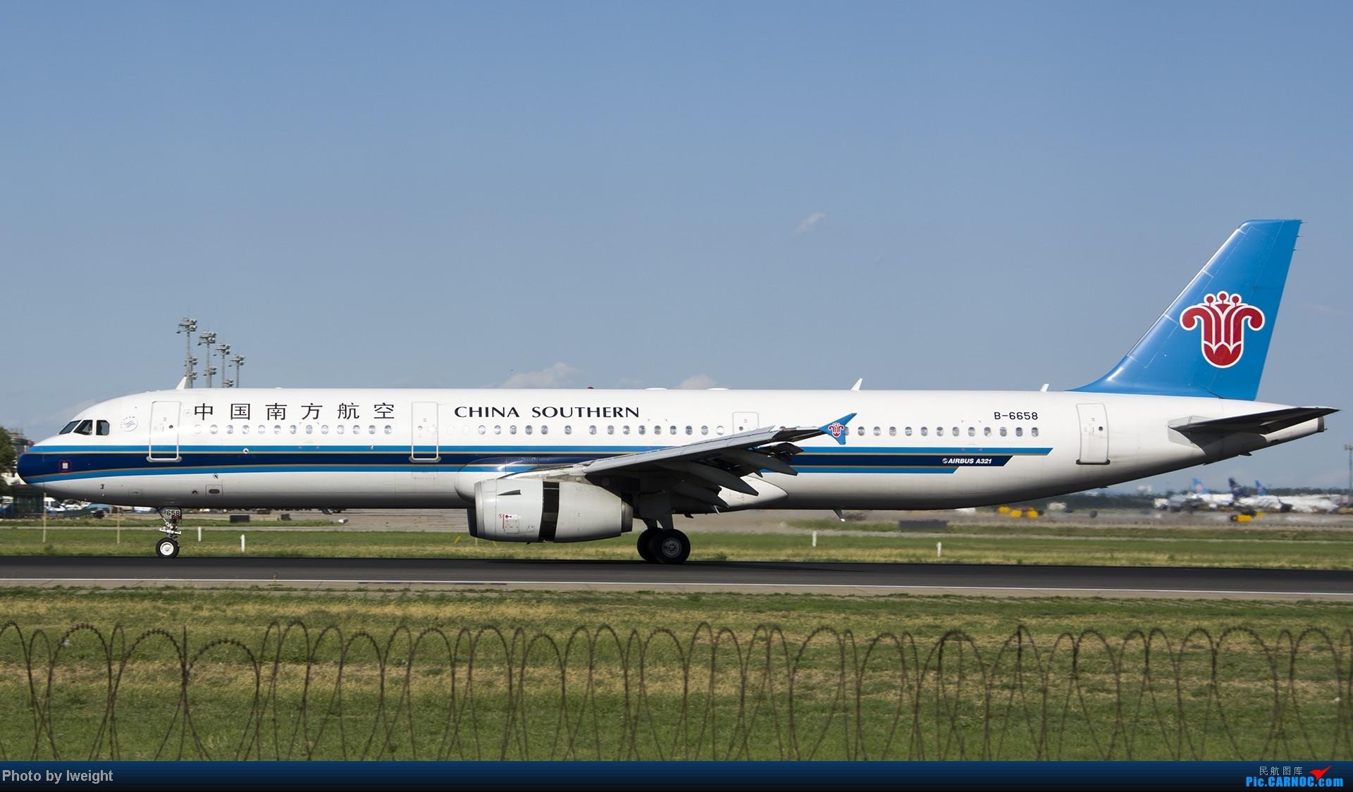 Re:[原创]新相机+好天气,PEK试机乱拍 AIRBUS A321-200 B-6658 中国北京首都机场