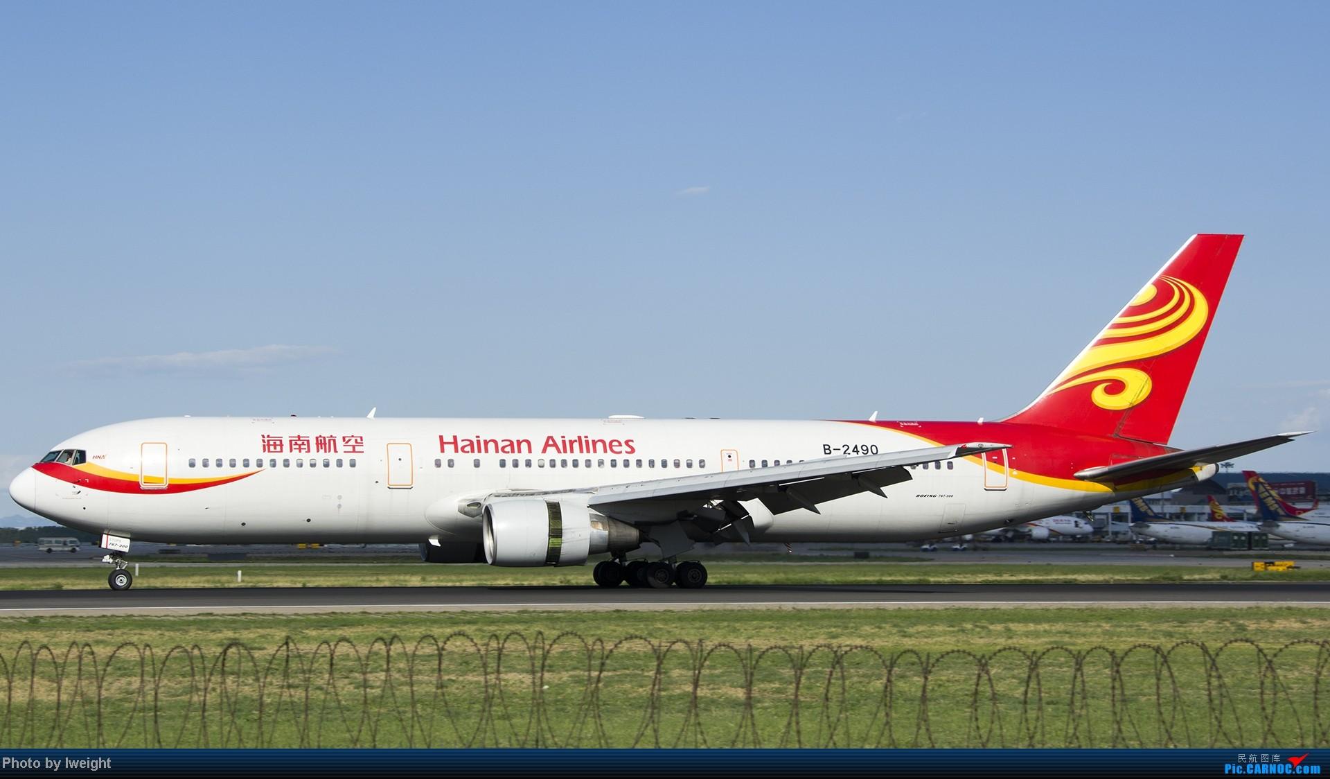 Re:[原创]新相机+好天气,PEK试机乱拍 BOEING 767-300 B-2490 中国北京首都机场
