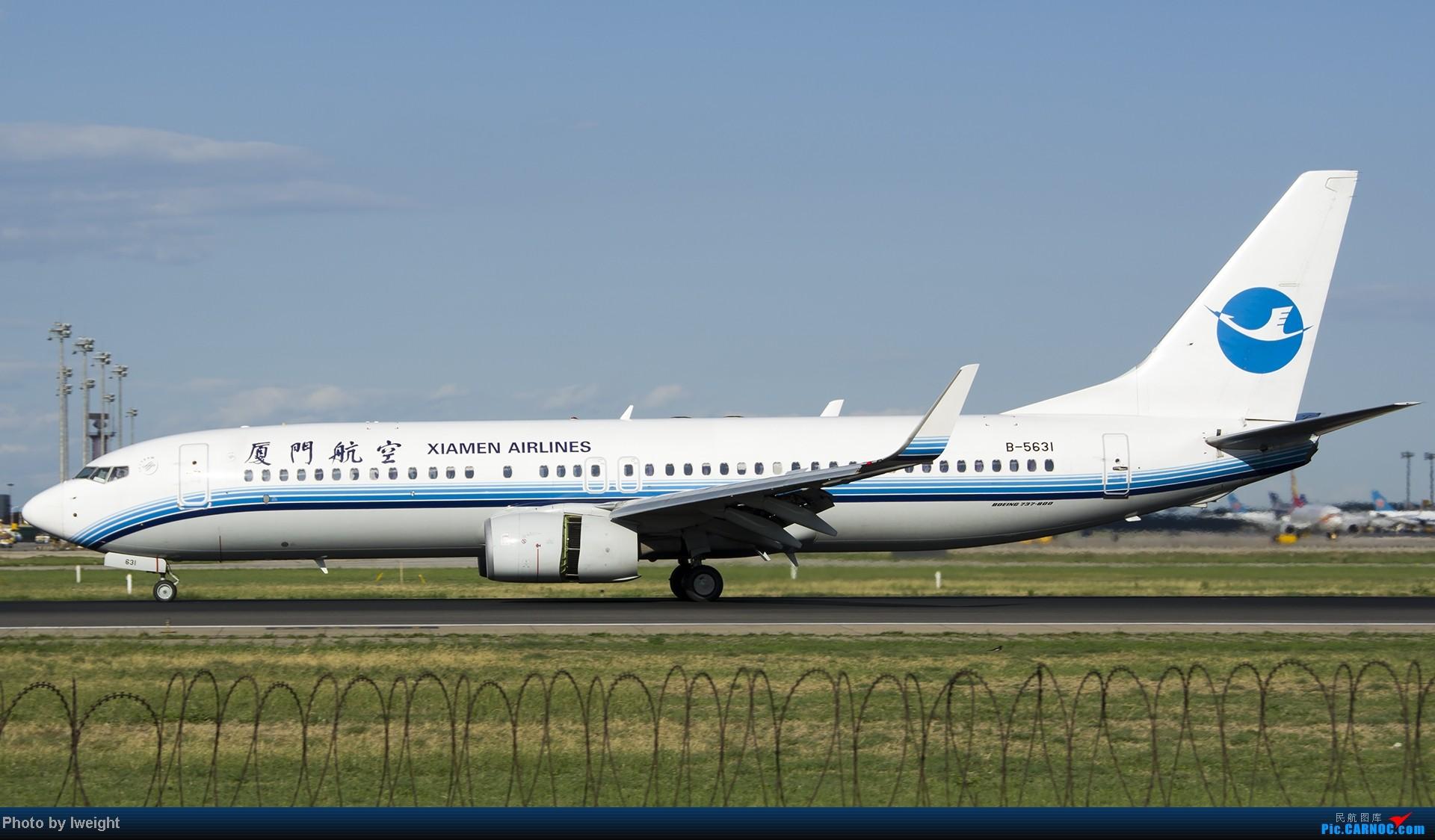 Re:[原创]新相机+好天气,PEK试机乱拍 BOEING 737-800 B-5631 中国北京首都机场