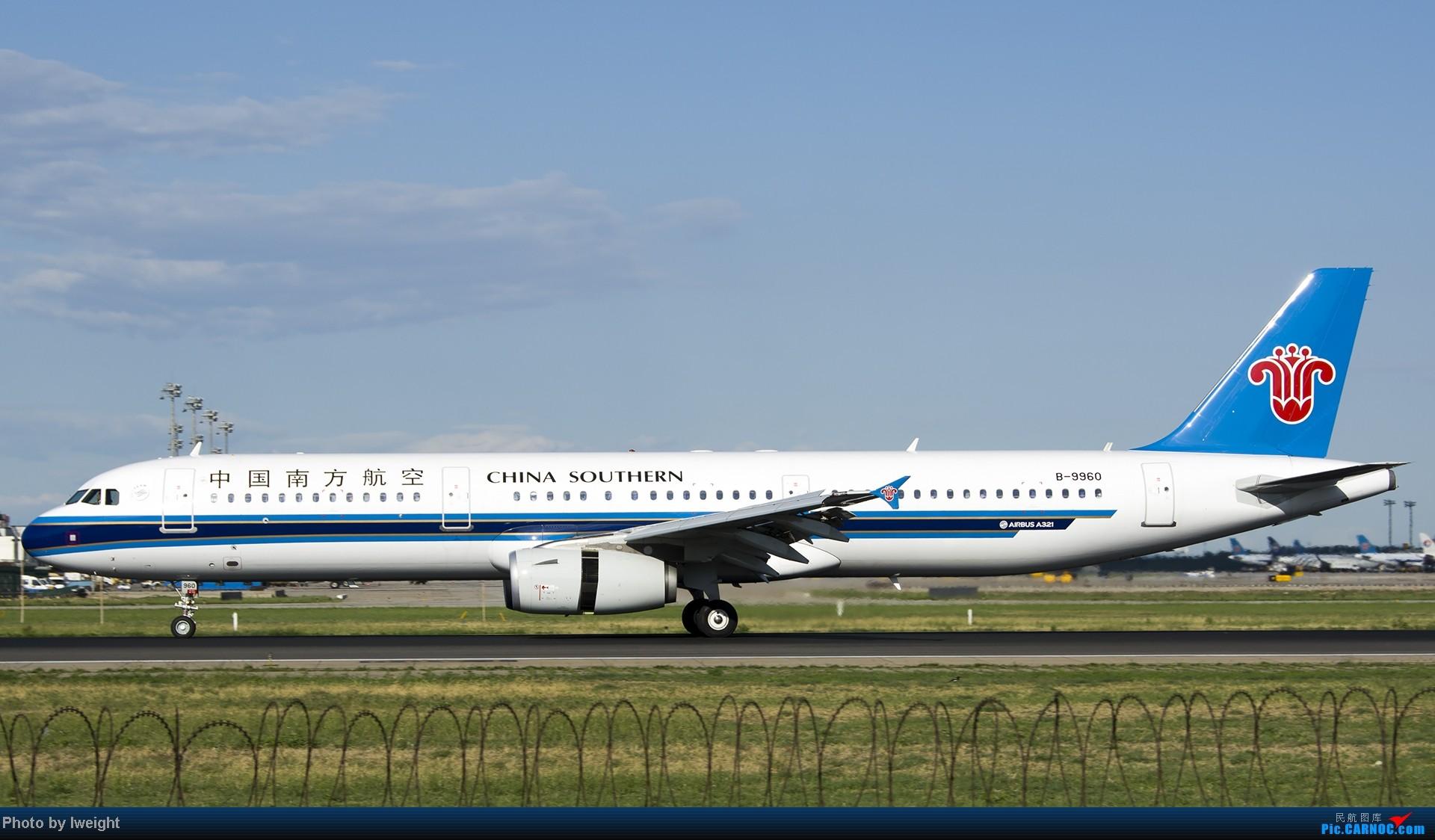 Re:新相机+好天气,PEK试机乱拍 AIRBUS A321-200 B-9960 中国北京首都机场