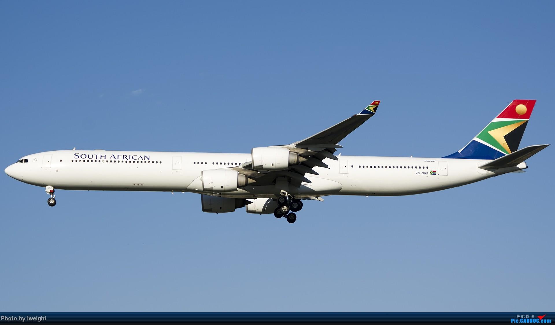 Re:[原创]新相机+好天气,PEK试机乱拍 AIRBUS A340-600 ZS-SNF 中国北京首都机场