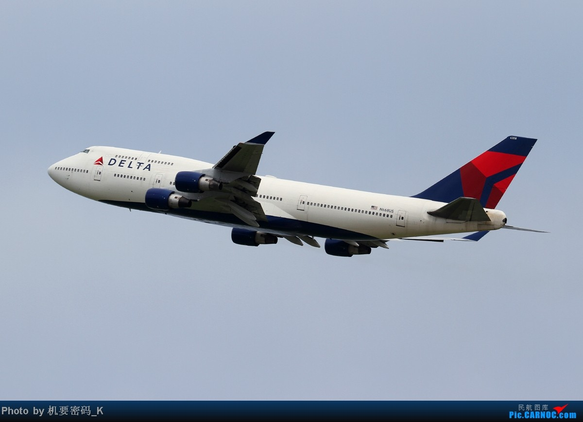 Re:[原创]台北桃园国际机场随拍。那些天我们一起拍过的飞机。 BOEING 747-400 N668US 中国台北桃园机场