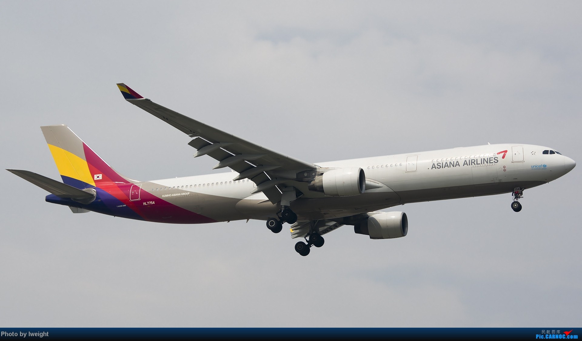 Re:[原创]休假无聊,跑道边来拍机玩(晚点的ZestAir、换装的B6100和刚交付的B2738等) AIRBUS A330-300 HL7754 中国北京首都机场