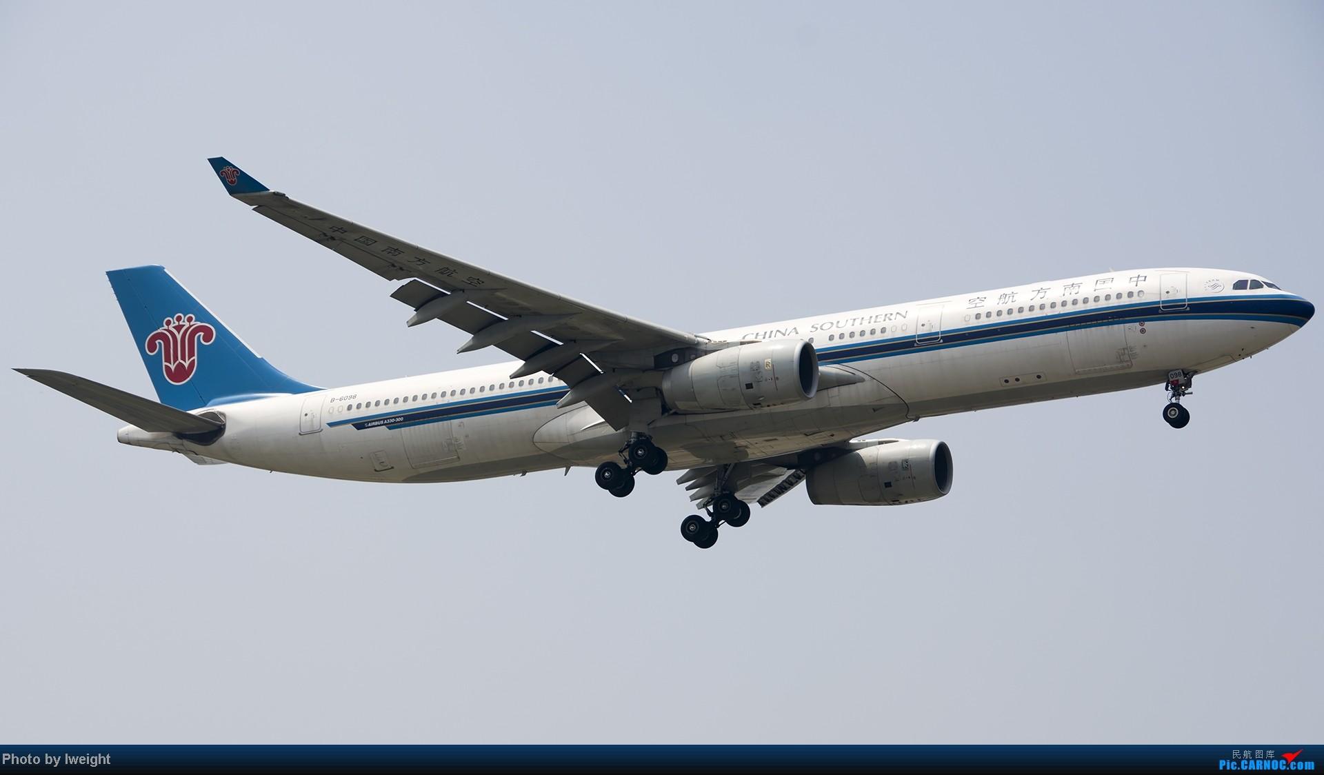 Re:[原创]休假无聊,跑道边来拍机玩(晚点的ZestAir、换装的B6100和刚交付的B2738等) AIRBUS A330-300 B-6098 中国北京首都机场
