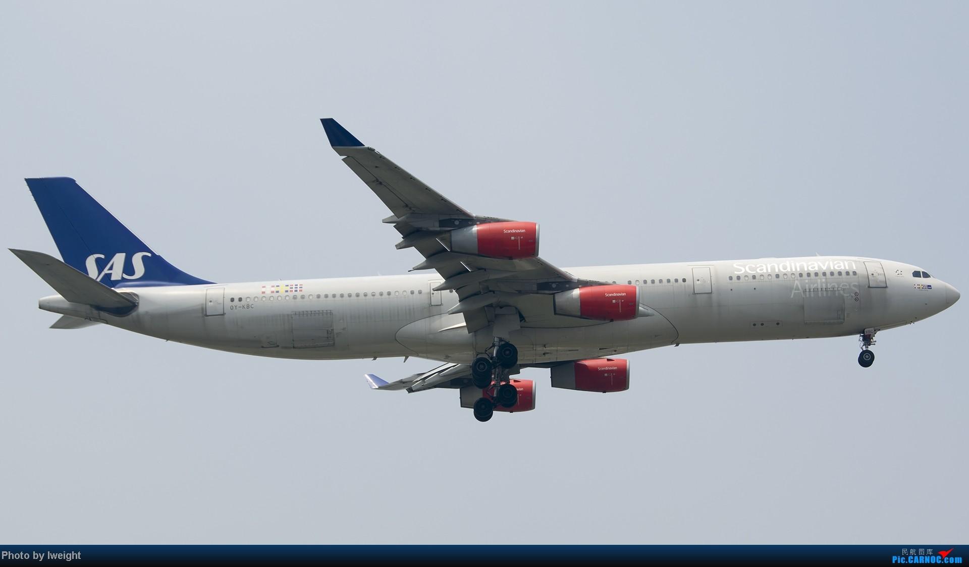 Re:[原创]休假无聊,跑道边来拍机玩(晚点的ZestAir、换装的B6100和刚交付的B2738等) AIRBUS A340-300 OY-KBC 中国北京首都机场