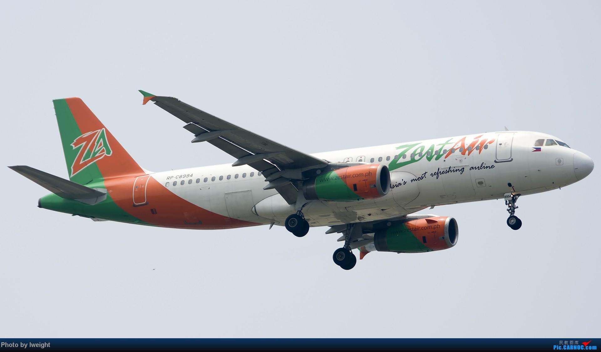 Re:[原创]休假无聊,跑道边来拍机玩(晚点的ZestAir、换装的B6100和刚交付的B2738等) AIRBUS A320-200 RP-C8994 中国北京首都机场