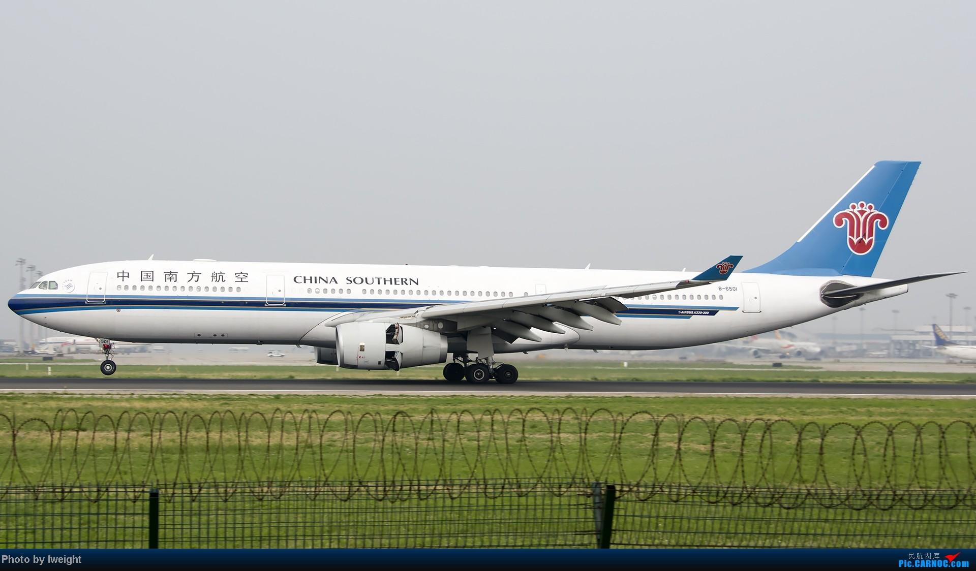 Re:[原创]休假无聊,跑道边来拍机玩(晚点的ZestAir、换装的B6100和刚交付的B2738等) AIRBUS A330-300 B-6501 中国北京首都机场