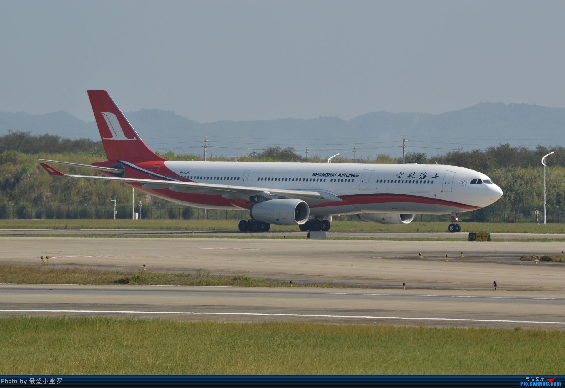 [原创]老图系列,13年11月15日广州白云机场西跑拍机 AIRBUS A330-300 B-6097 中国广州白云机场