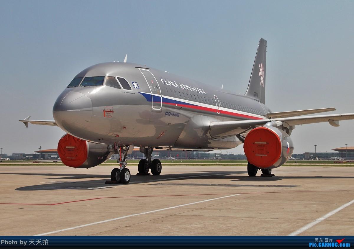 [原创]捷克空客A319客机经停北京是个国际机场 空客 2801 中国北京首都机场