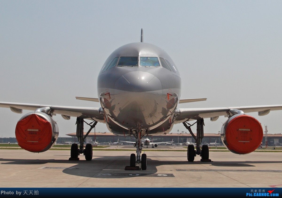Re:[原创]捷克空客A319客机经停北京是个国际机场 空客 2801 中国北京首都机场