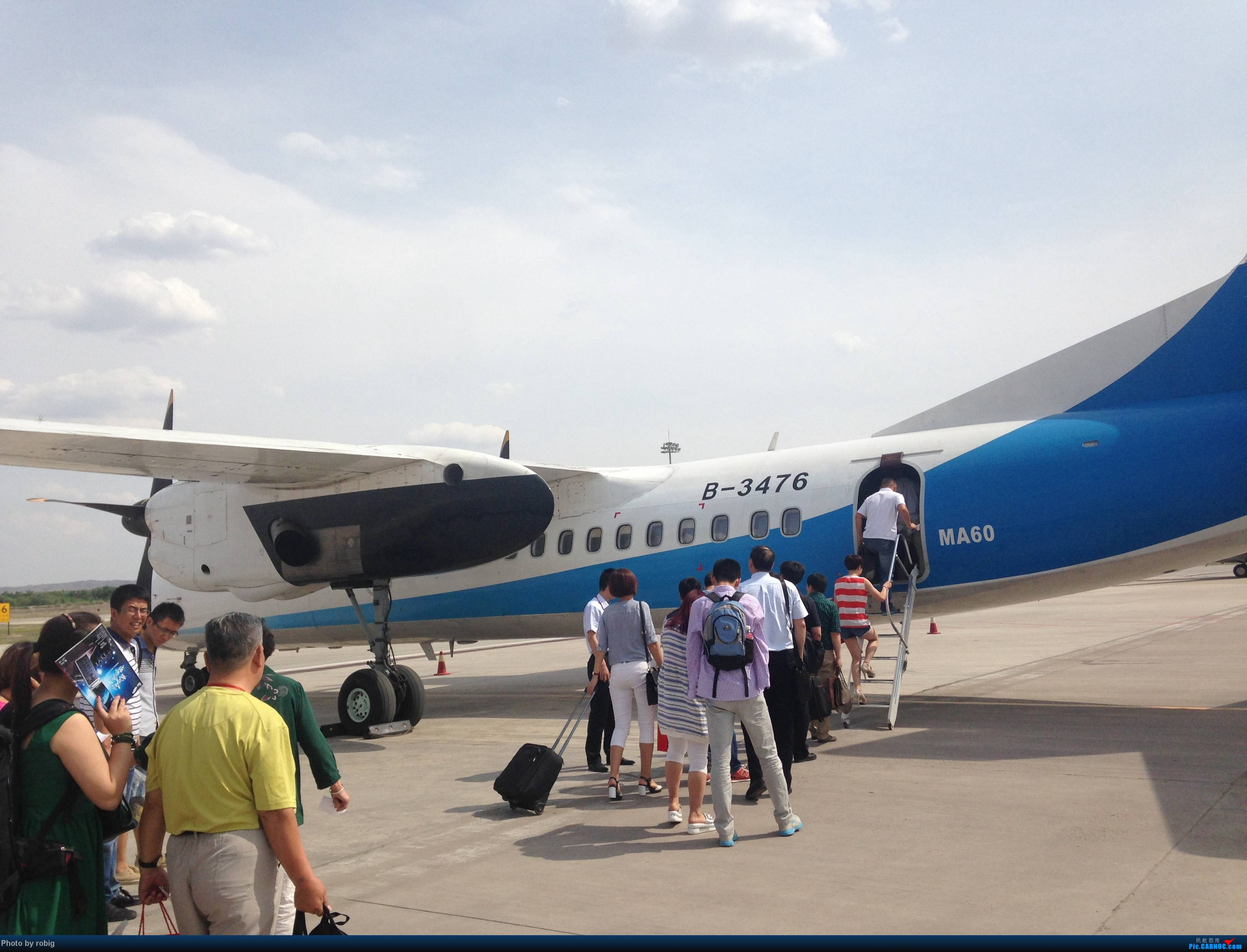 Re:[原创]XIY-GYU-ING-GYU-XIY XIFEI MA-60 B-3476 中国银川河东机场