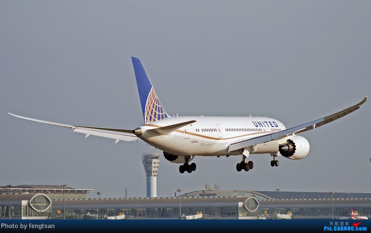 [原创][CCFA]美联航787几张+其他杂烩+最新更新 BOEING 787-8 N26909 中国成都双流机场