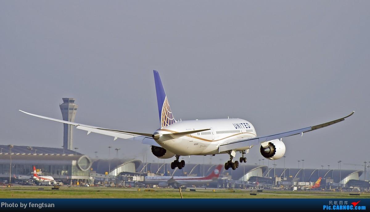 Re:[原创][CCFA]美联航787几张 BOEING 787-8 N26909 中国成都双流机场