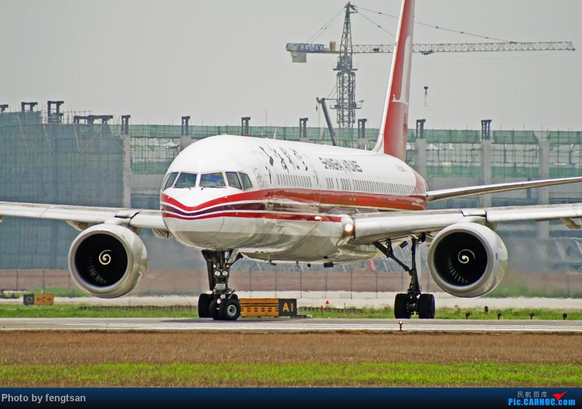 Re:[原创][CCFA]美联航787几张 BOEING 757-200 B-2843 中国成都双流机场