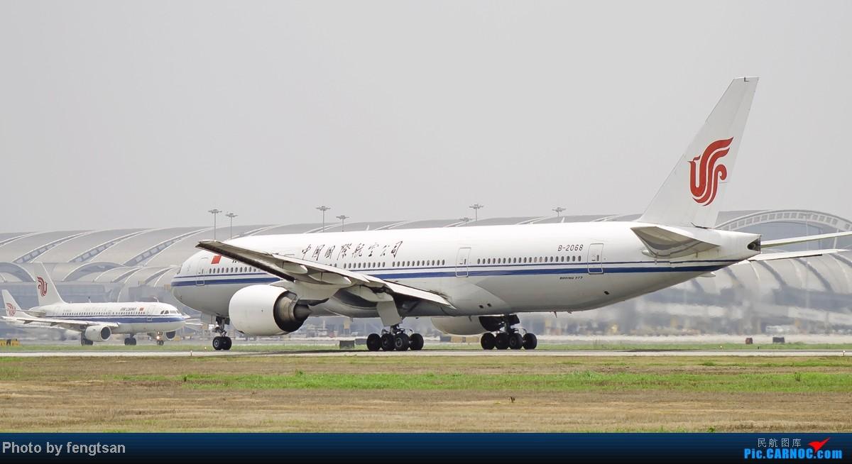 Re:[原创][CCFA]美联航787几张 BOEING 777-200 B-2068 中国成都双流机场