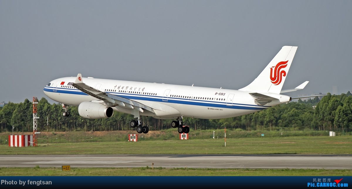 Re:[原创][CCFA]美联航787几张 AIRBUS A330-300 B-5913 中国成都双流机场