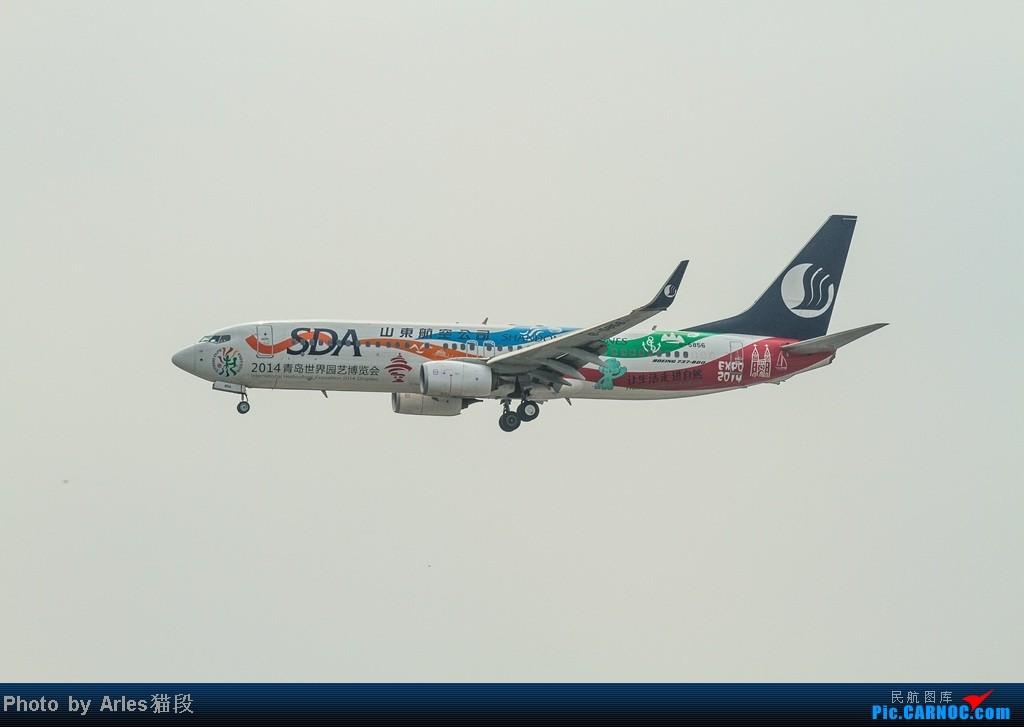 Re:[原创]烂天出好货,SHA拍飞机... BOEING 737-800 B-5856 中国上海虹桥机场