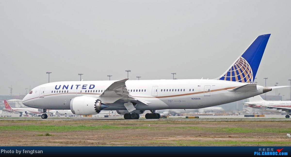 Re:[原创][CCFA]美联航787几张 BOEING 787-8 N26909 CTU