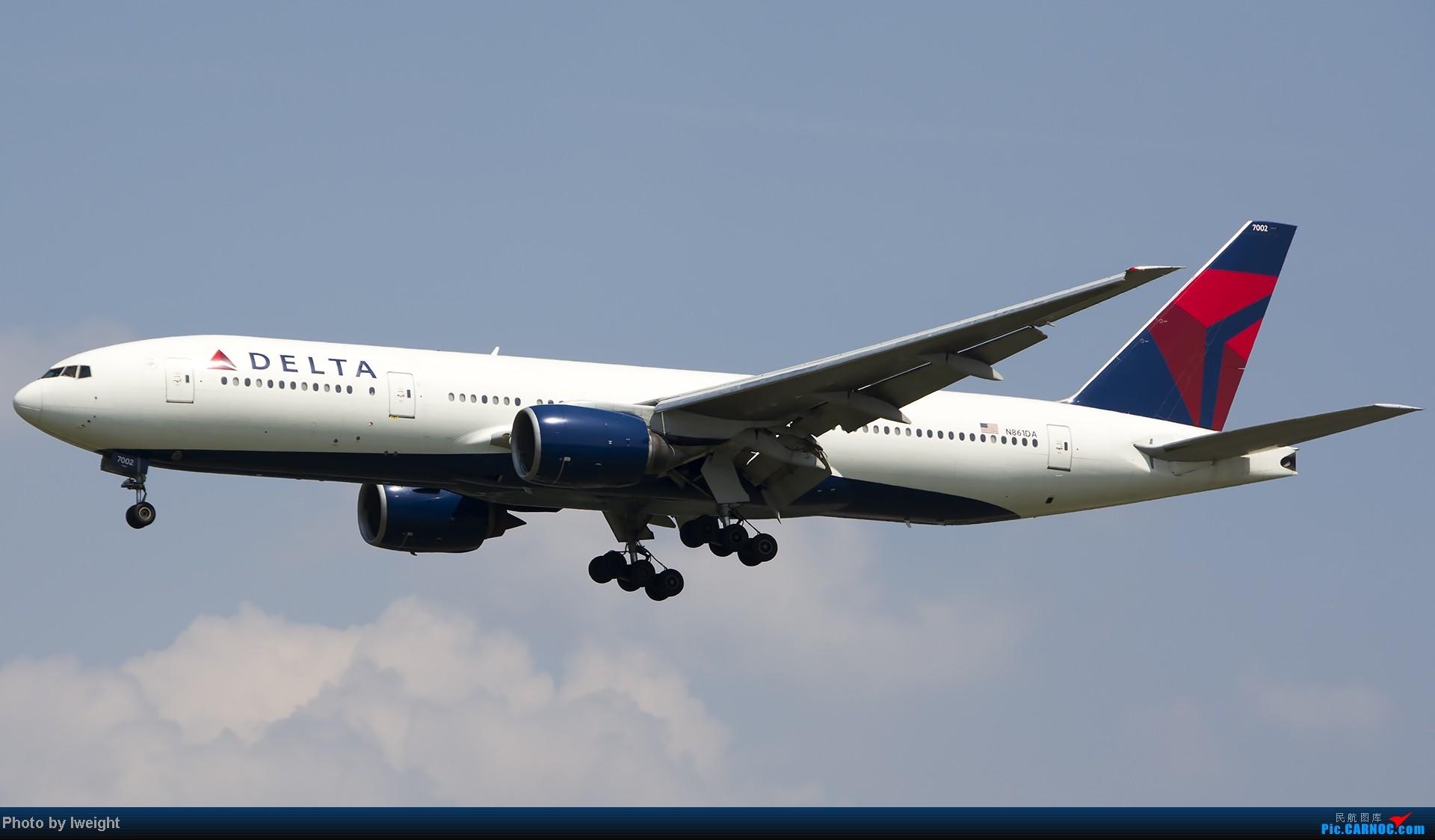 Re:[原创]20号下午机场随拍(国内最新的787-8) BOEING 777-200 N861DA 中国北京首都机场