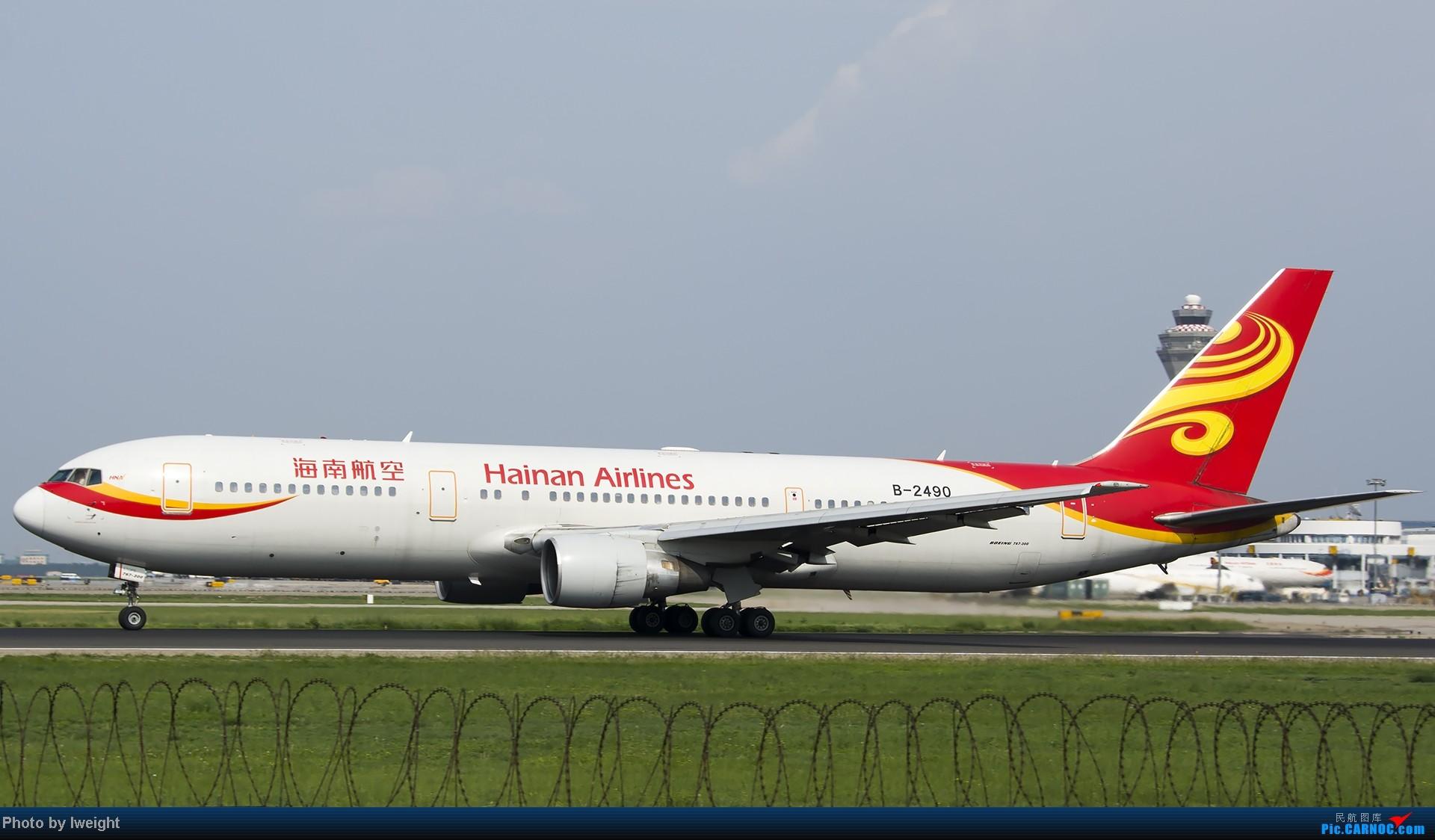 Re:[原创]20号下午机场随拍(国内最新的787-8) BOEING 767-300 B-2490 中国北京首都机场