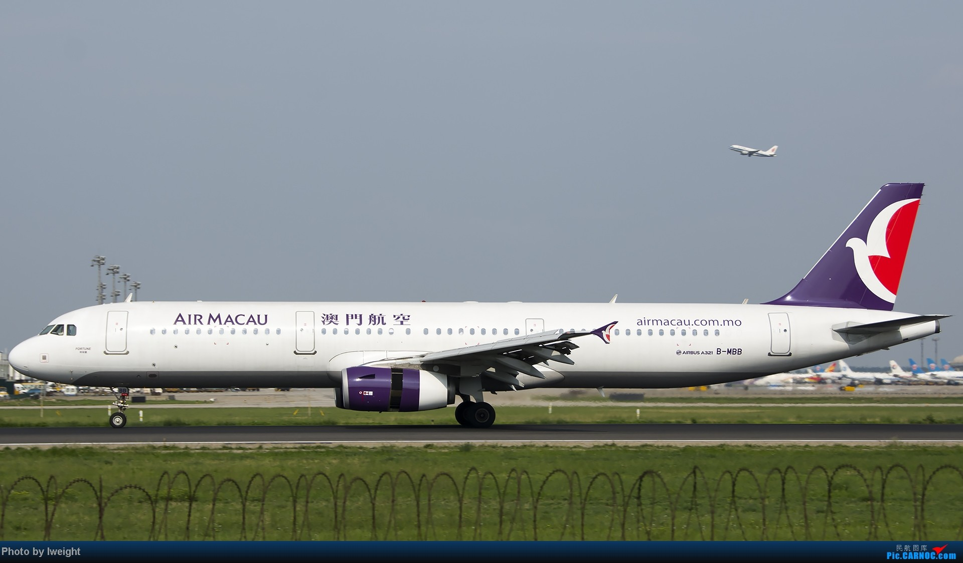 Re:[原创]20号下午机场随拍(国内最新的787-8) AIRBUS A321-200 B-MBB 中国北京首都机场