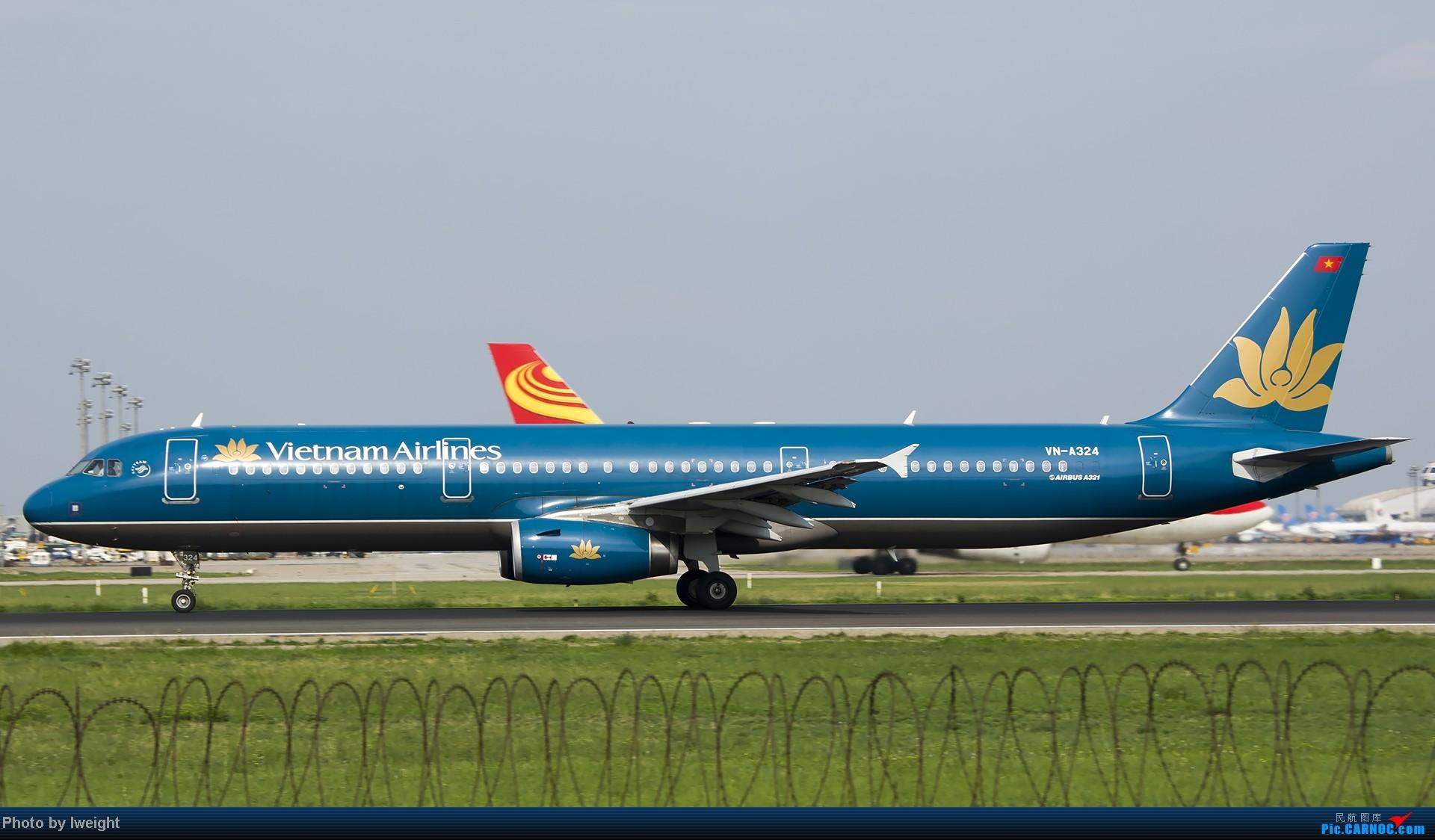 Re:[原创]20号下午机场随拍(国内最新的787-8) AIRBUS A321-200 VN-A324 中国北京首都机场