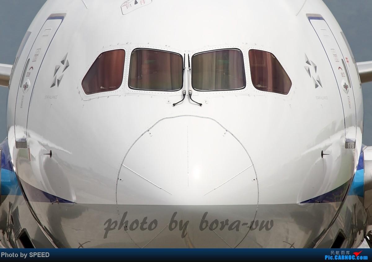 [原创]脸大吗? BOEING 787 JA808A