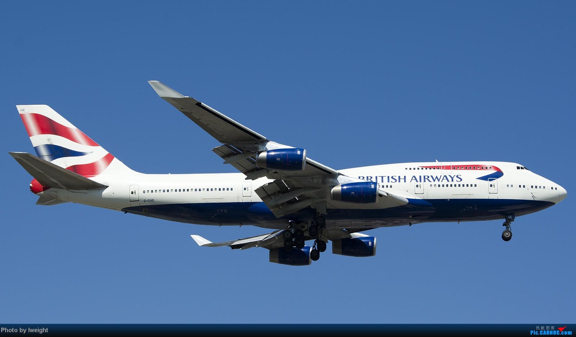 Re:[原创]酷暑周末拍遍PEK三条跑道,收获众多常见机型 BOEING 747-400 G-CIVE 中国北京首都机场