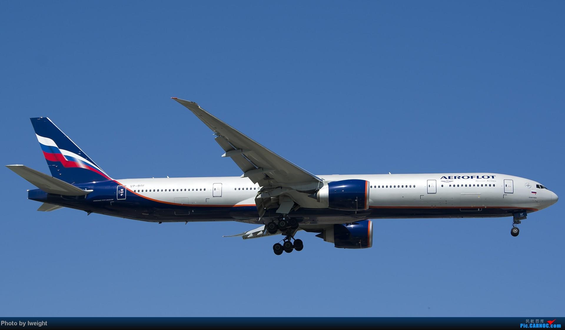 Re:[原创]酷暑周末拍遍PEK三条跑道,收获众多常见机型 BOEING 777-300 VP-BGF 中国北京首都机场