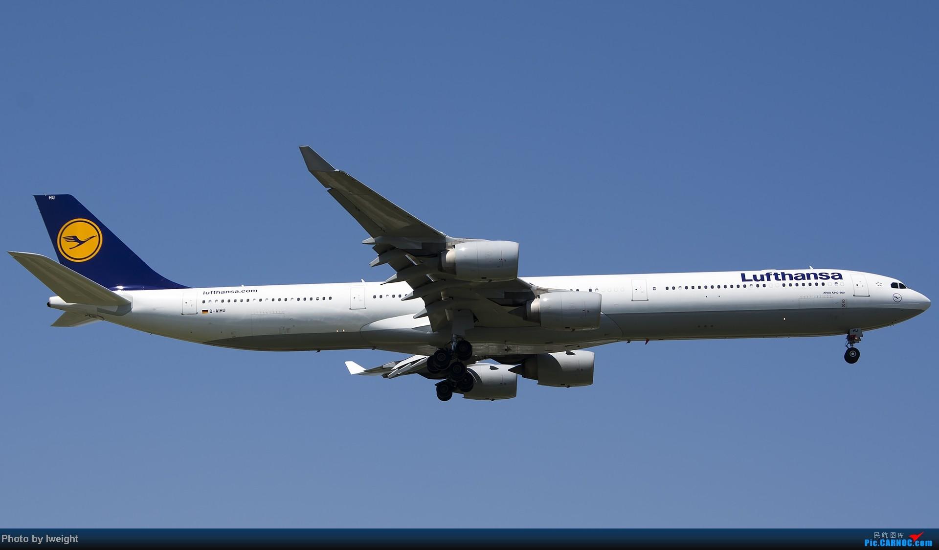 Re:[原创]酷暑周末拍遍PEK三条跑道,收获众多常见机型 AIRBUS A340-600 D-AIHU 中国北京首都机场