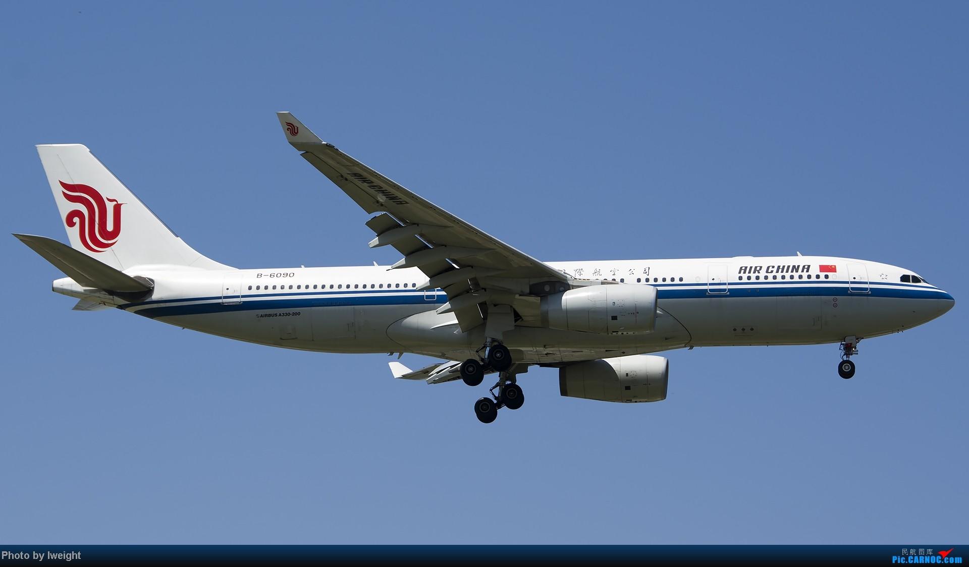 Re:[原创]酷暑周末拍遍PEK三条跑道,收获众多常见机型 AIRBUS A330-200 B-6090 中国北京首都机场