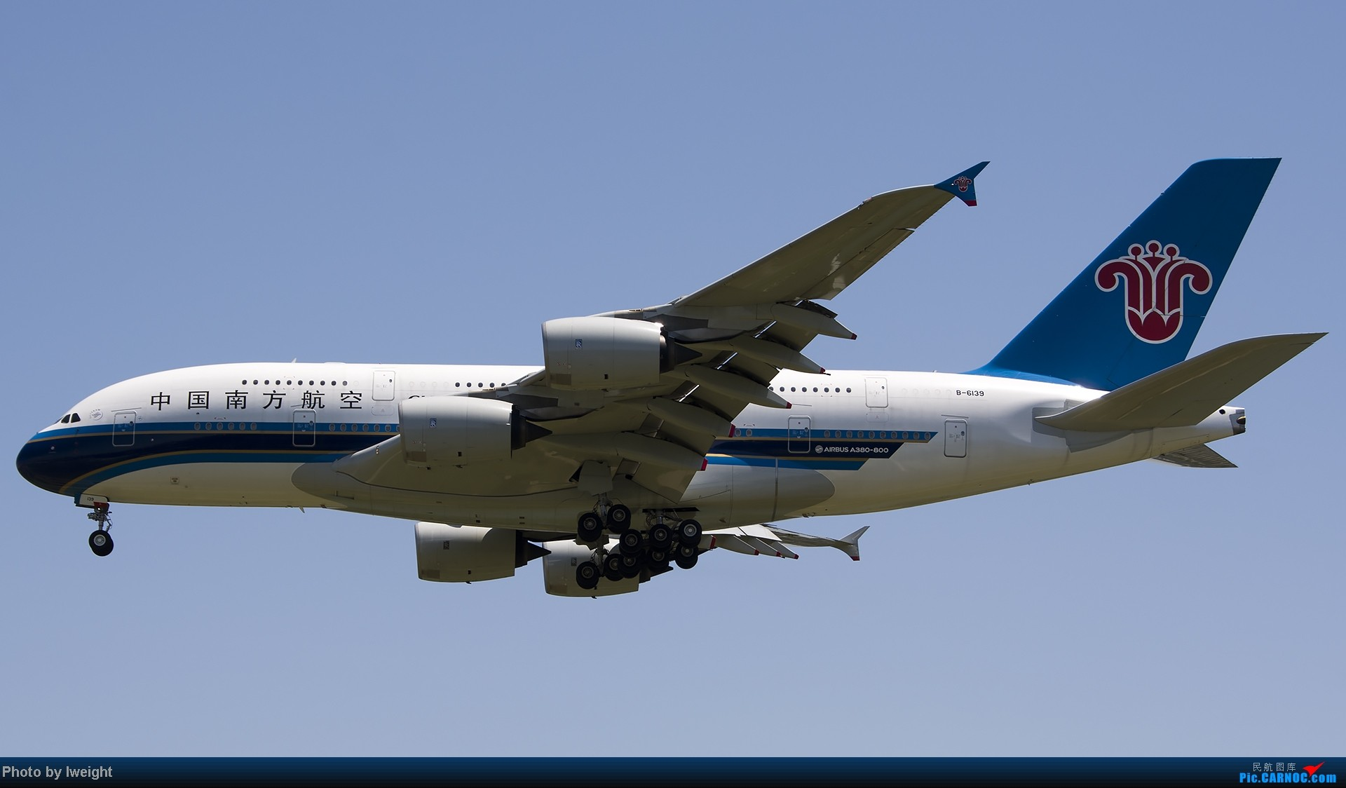 Re:[原创]酷暑周末拍遍PEK三条跑道,收获众多常见机型 AIRBUS A380 B-6139 中国北京首都机场