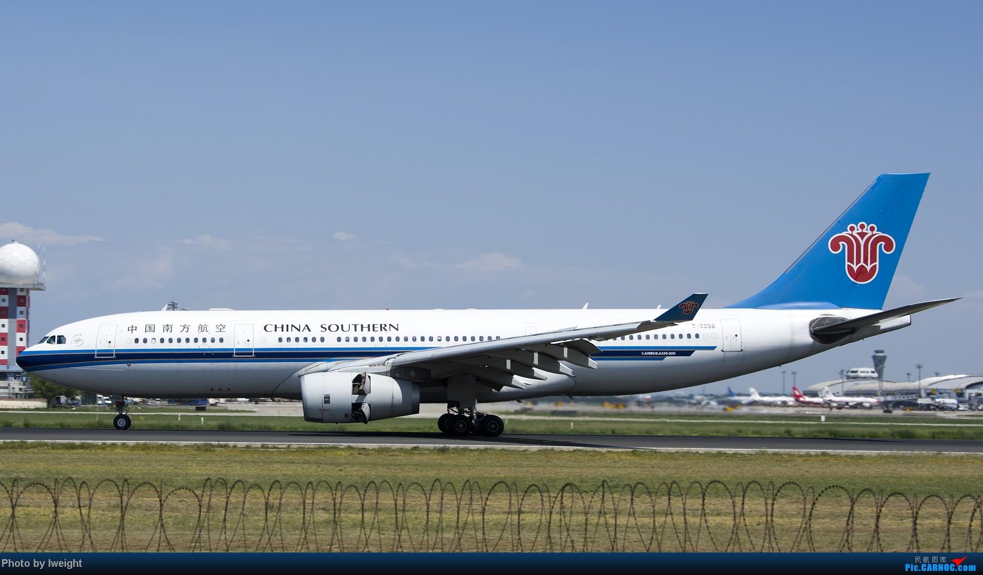 Re:[原创]酷暑周末拍遍PEK三条跑道,收获众多常见机型 AIRBUS A330-200 B-6058 中国北京首都机场