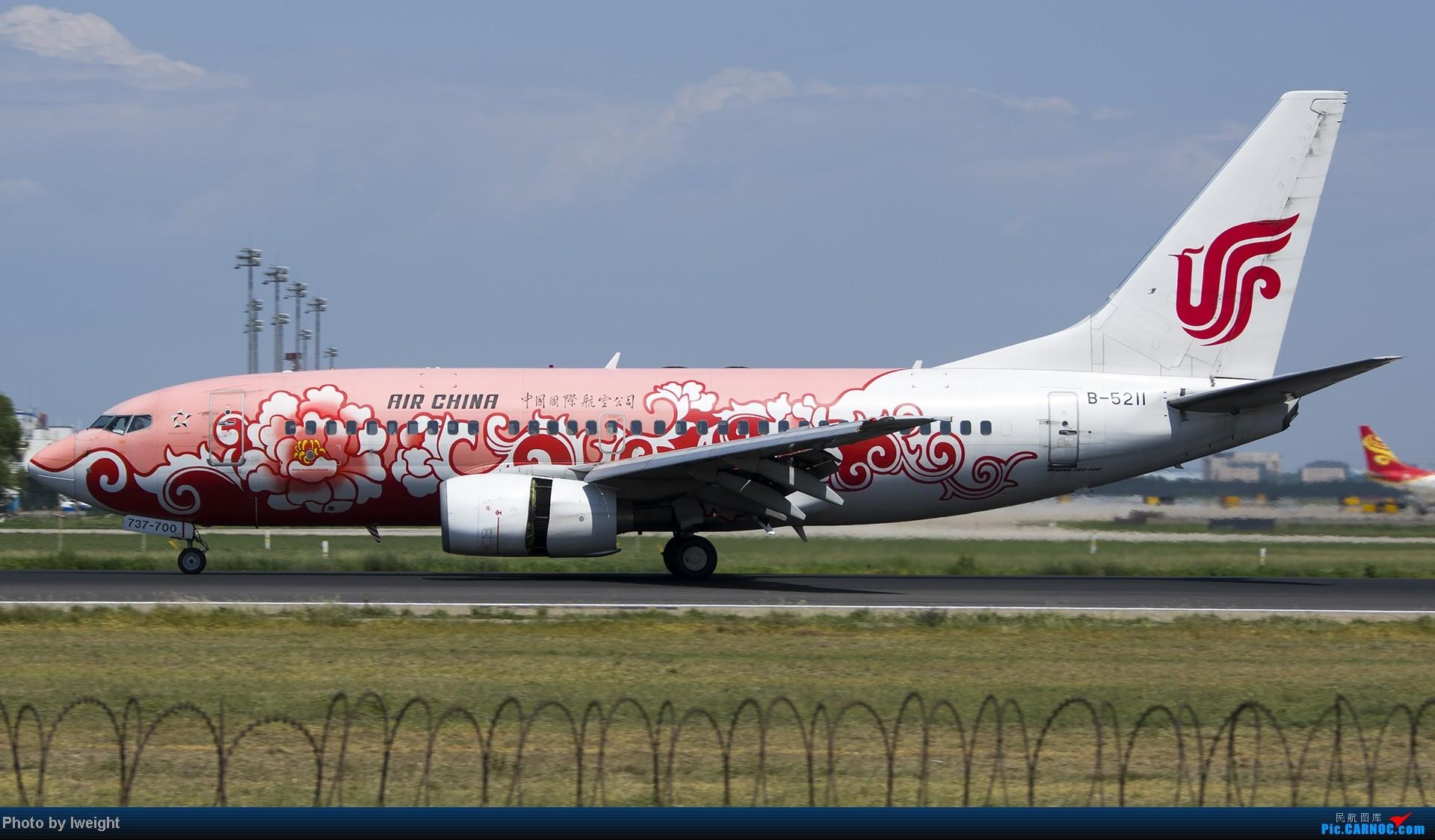 Re:[原创]酷暑周末拍遍PEK三条跑道,收获众多常见机型 BOEING 737-700 B-5211 中国北京首都机场