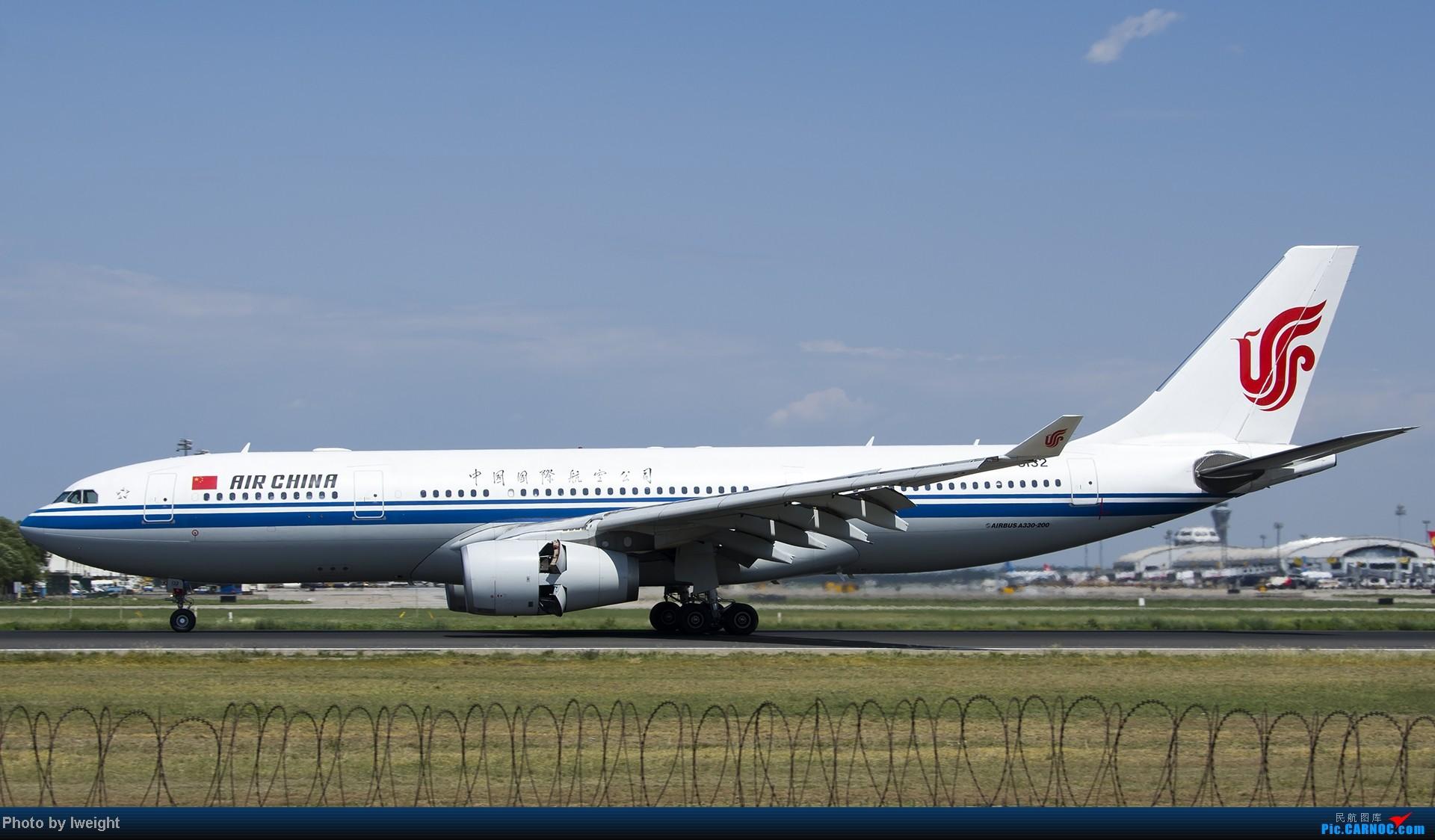 Re:[原创]酷暑周末拍遍PEK三条跑道,收获众多常见机型 AIRBUS A330-200 B-6132 中国北京首都机场