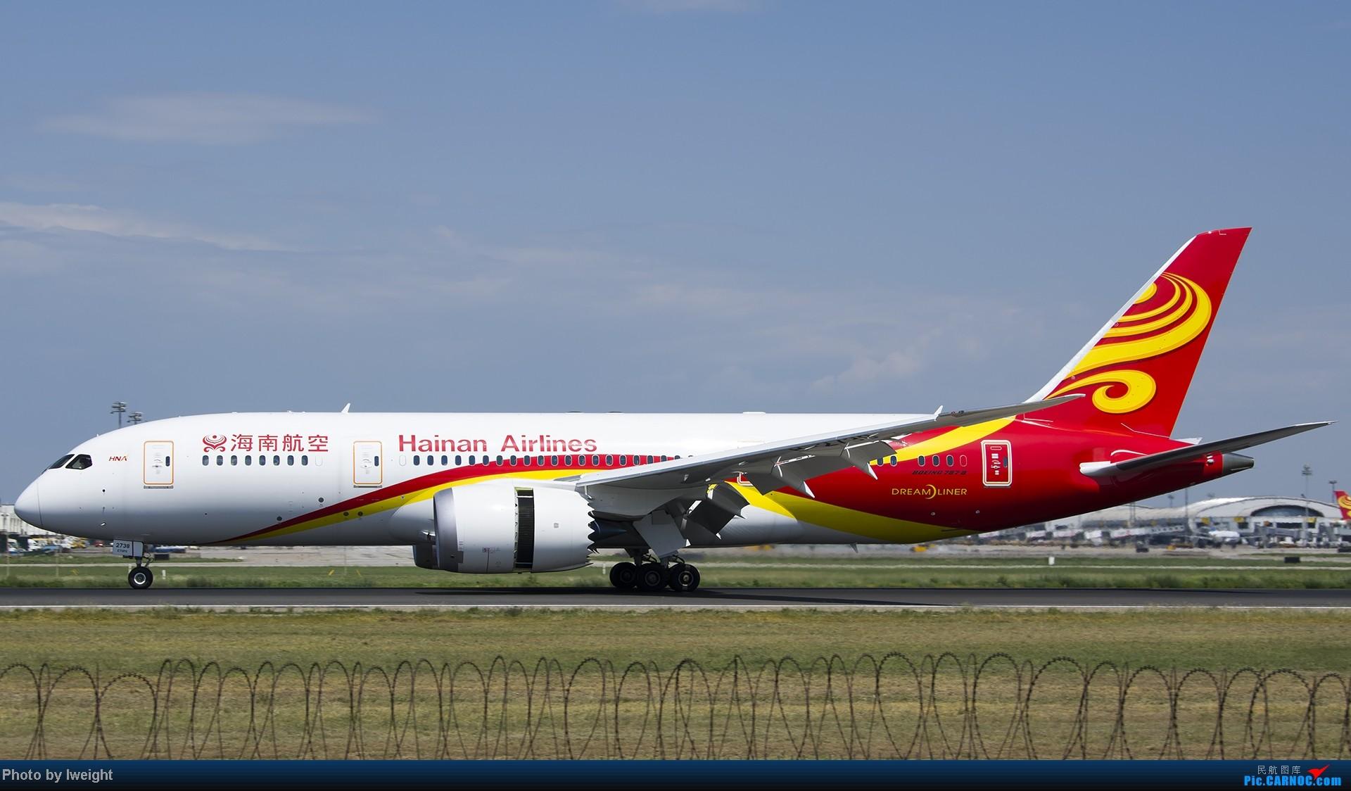 Re:[原创]酷暑周末拍遍PEK三条跑道,收获众多常见机型 BOEING 787-8 B-2738 中国北京首都机场