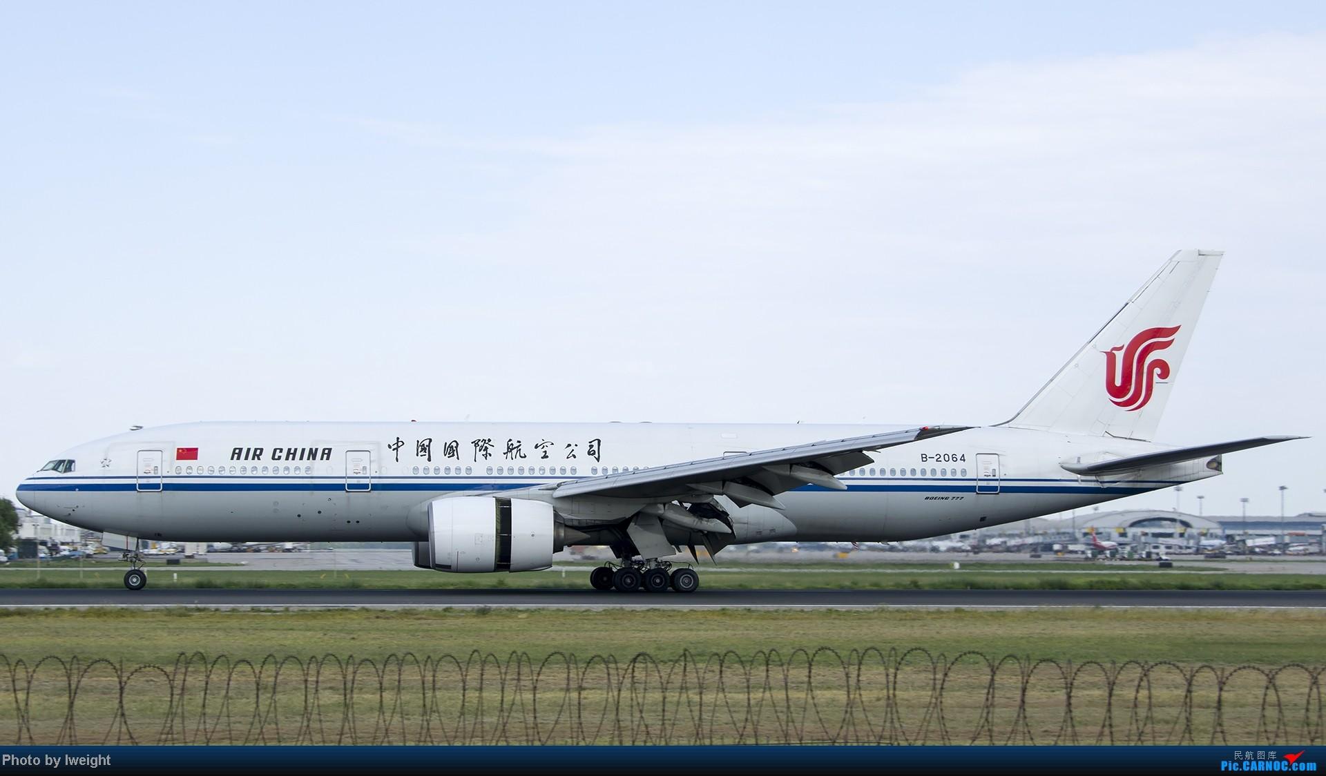 Re:[原创]酷暑周末拍遍PEK三条跑道,收获众多常见机型 BOEING 777-200 B-2064 中国北京首都机场