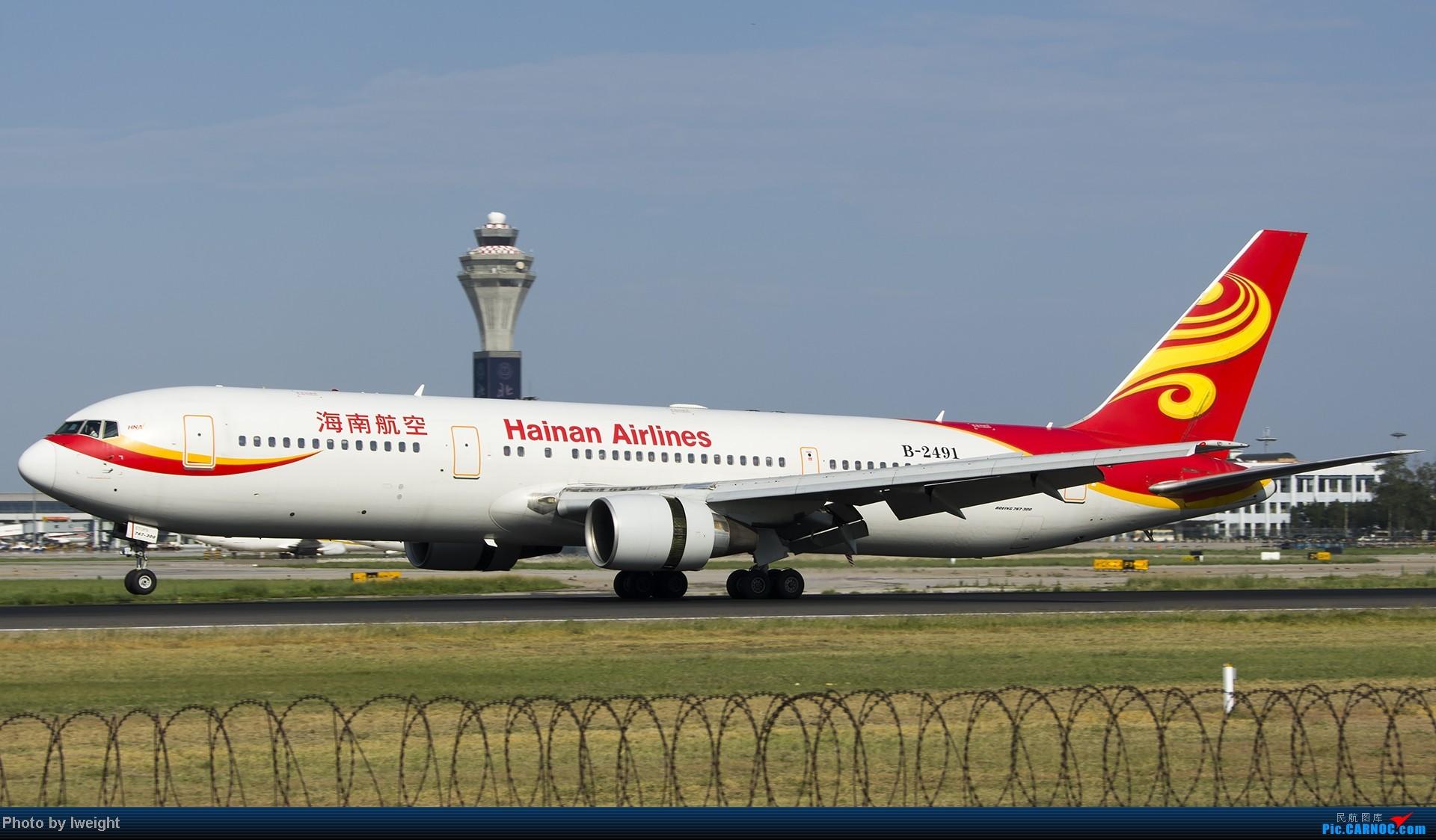 Re:[原创]酷暑周末拍遍PEK三条跑道,收获众多常见机型 BOEING 767-300 B-2491 中国北京首都机场