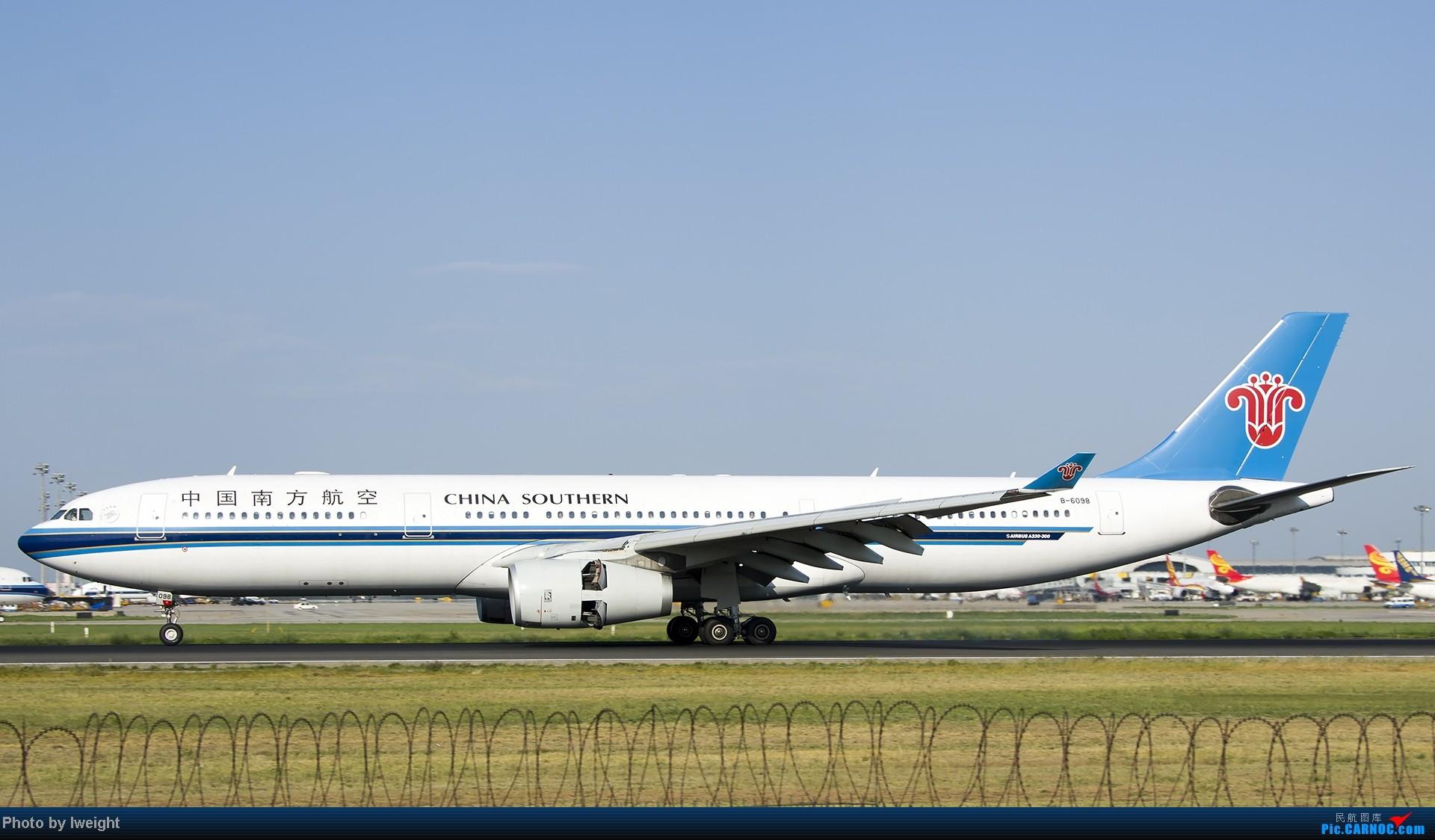 Re:[原创]酷暑周末拍遍PEK三条跑道,收获众多常见机型 AIRBUS A330-300 B-6098 中国北京首都机场