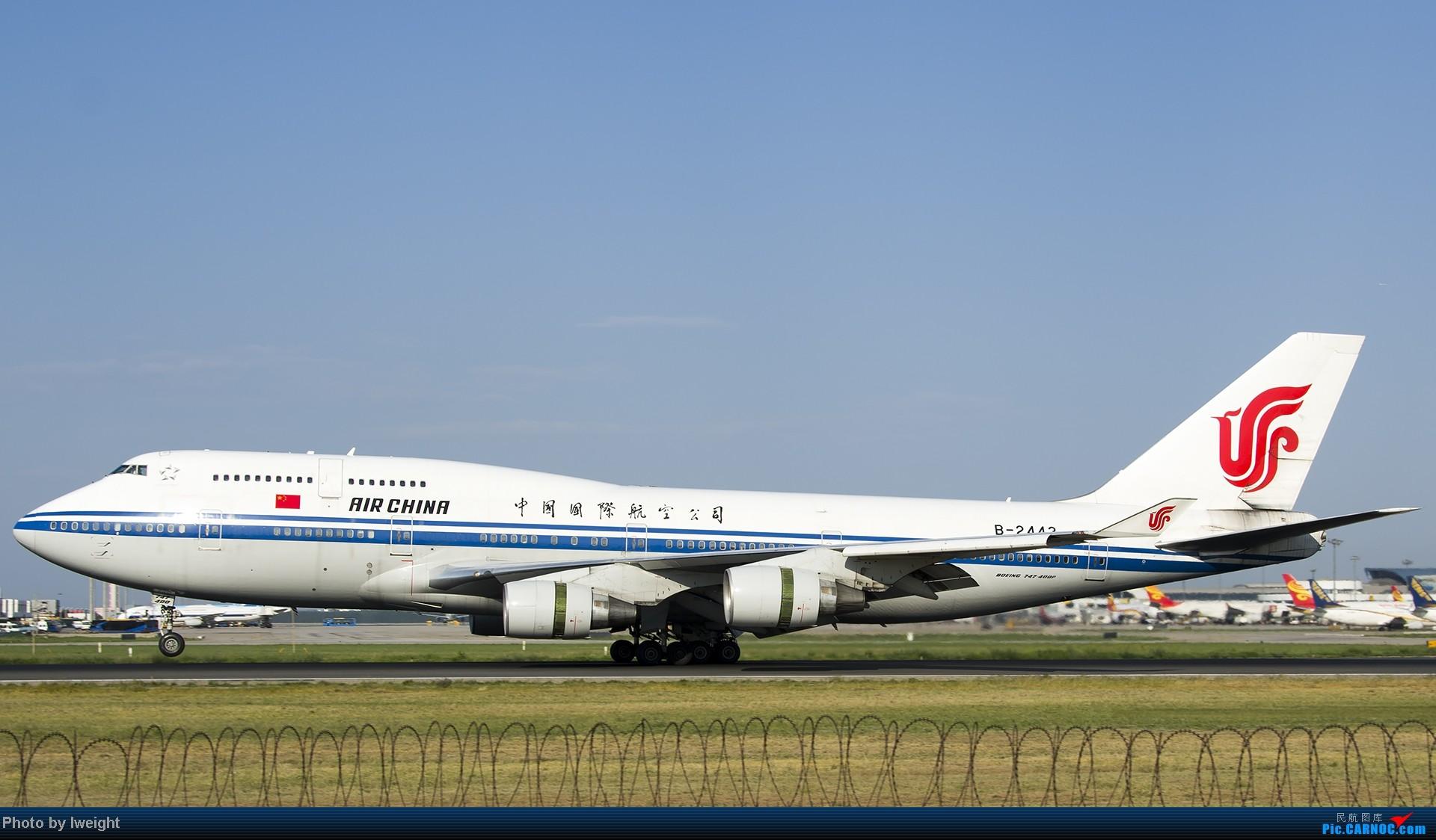 Re:[原创]酷暑周末拍遍PEK三条跑道,收获众多常见机型 BOEING 747-400 B-2443 中国北京首都机场