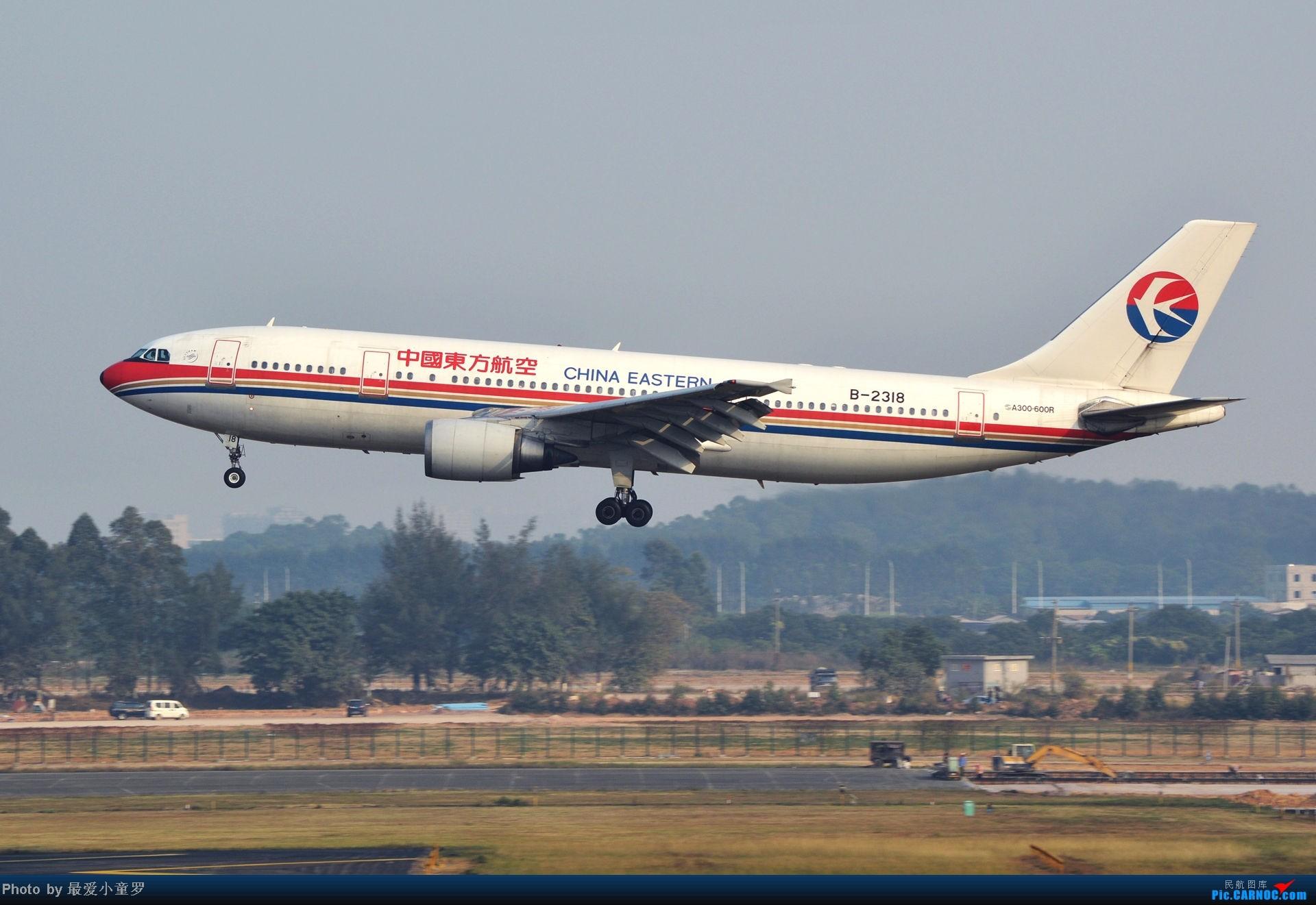 Re:[原创]去年11月15日,CAN烂天拍机,修出来的图无法直视 AIRBUS A300B4-600R B-2318 中国广州白云机场