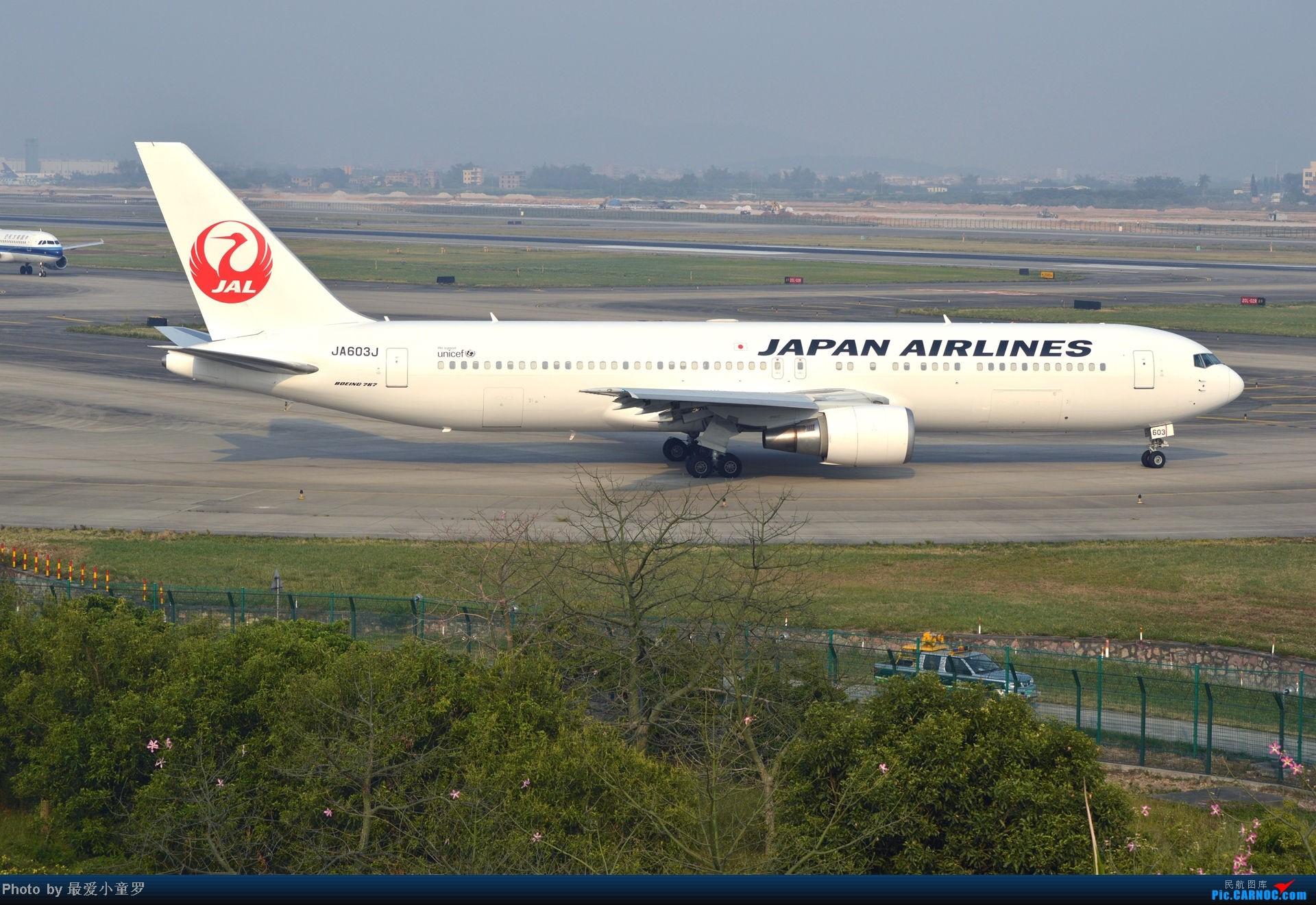 Re:[原创]去年11月15日,CAN烂天拍机,修出来的图无法直视 BOEING 767-300 JA603J 中国广州白云机场