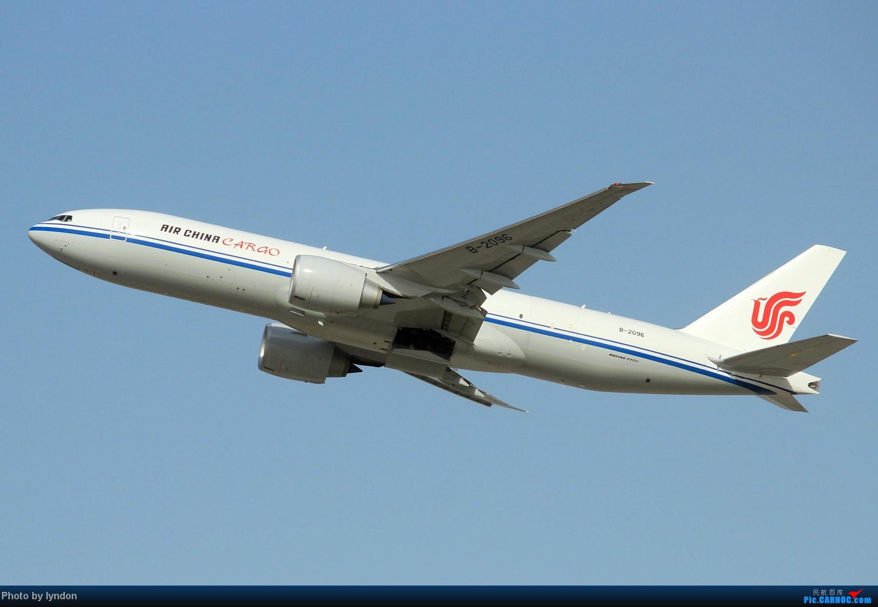 [原创]【HFE飞友】不多见的首都机场角度,无新机,无亮点,只有7P大图 BOEING 777-200 B-2096 中国北京首都机场
